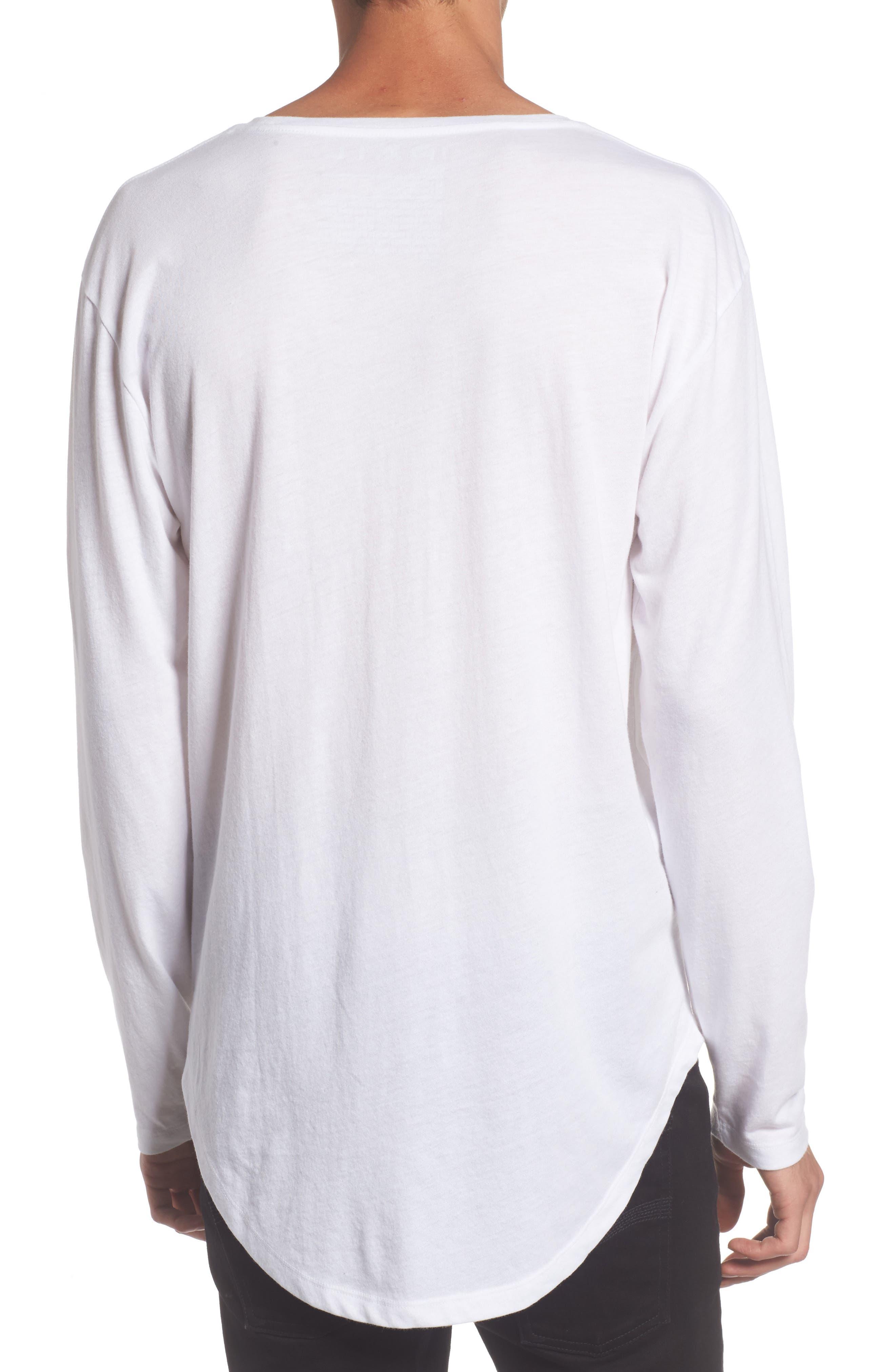 Shirttail T-Shirt,                             Alternate thumbnail 4, color,