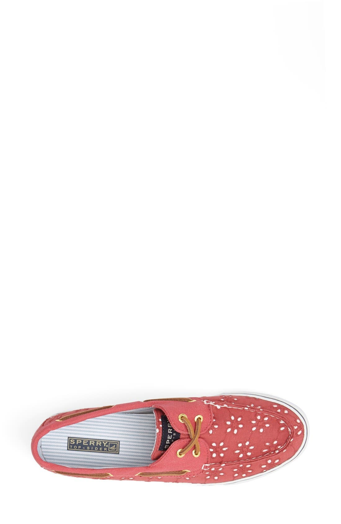 Top-Sider<sup>®</sup> 'Bahama' Sequined Boat Shoe,                             Alternate thumbnail 156, color,