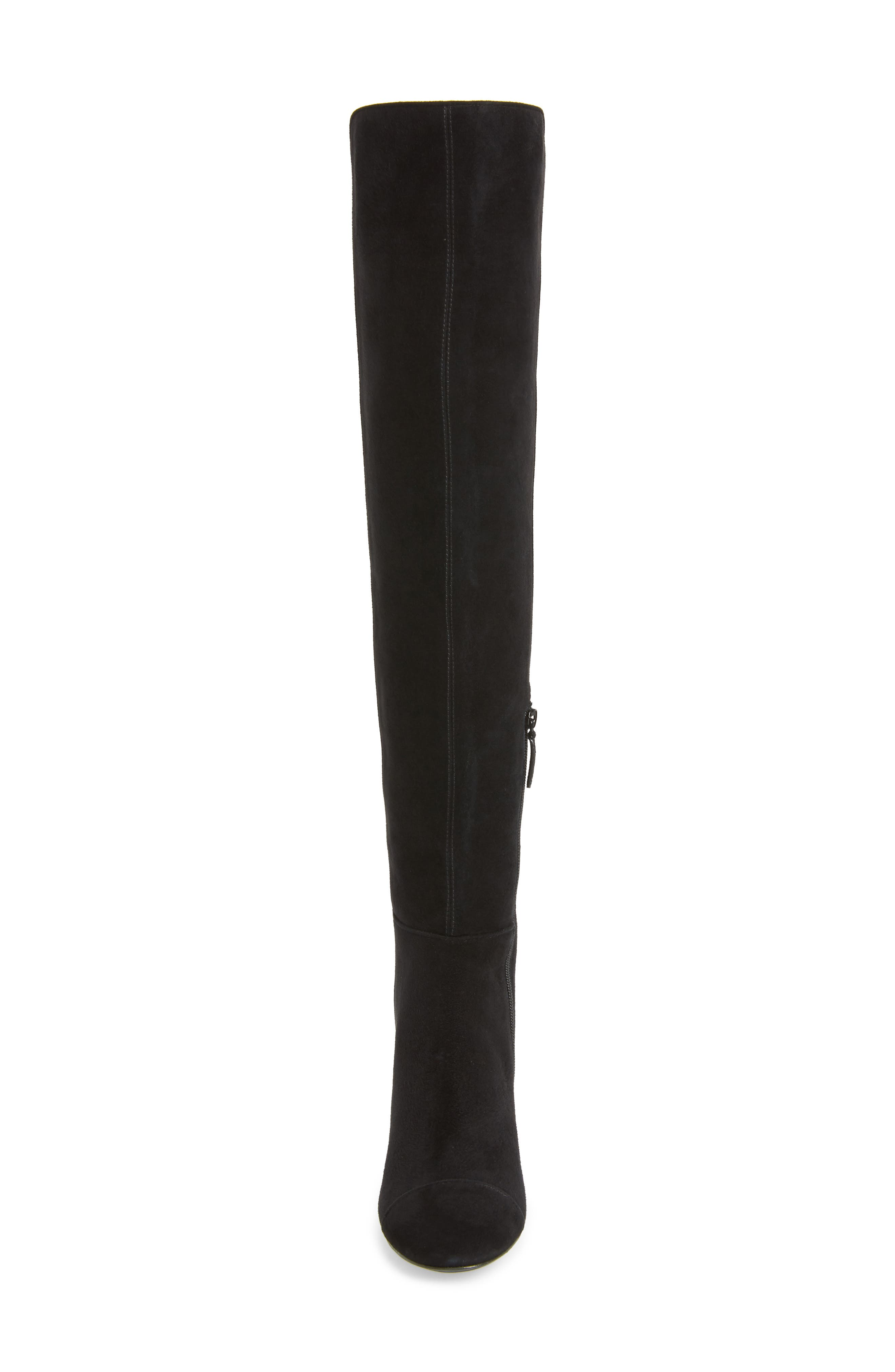 Nina Over the Knee Boot,                             Alternate thumbnail 4, color,                             006