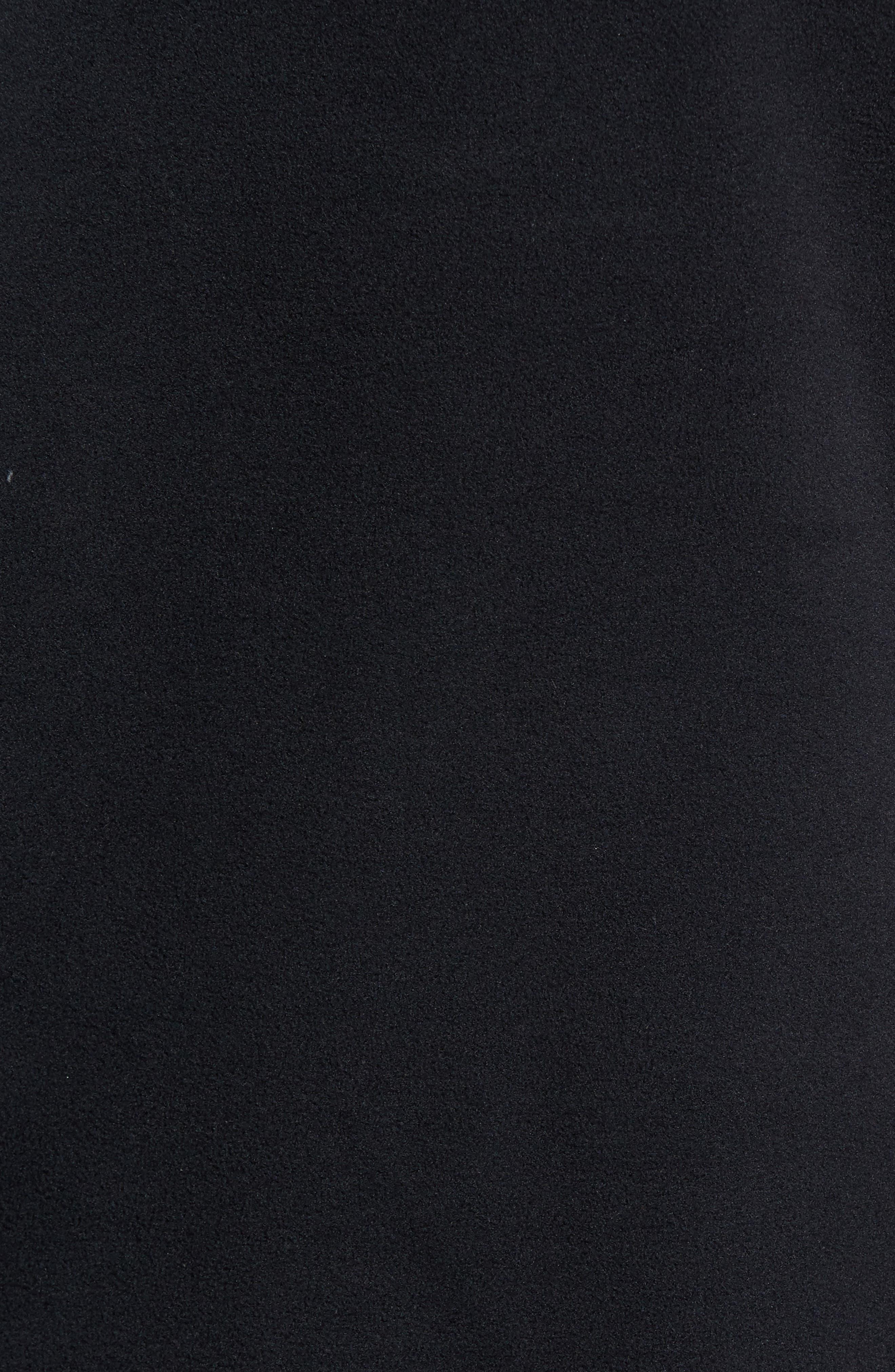 Fleece Pullover,                             Alternate thumbnail 5, color,                             BLACK