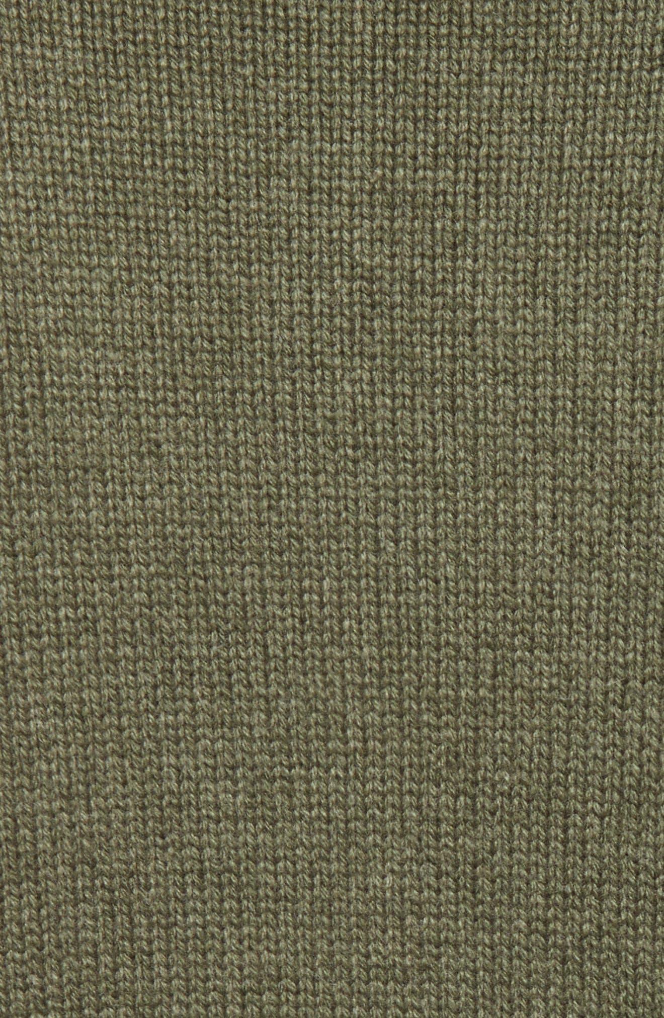 Iconic Cashmere Turtlenck Sweater,                             Alternate thumbnail 5, color,                             301