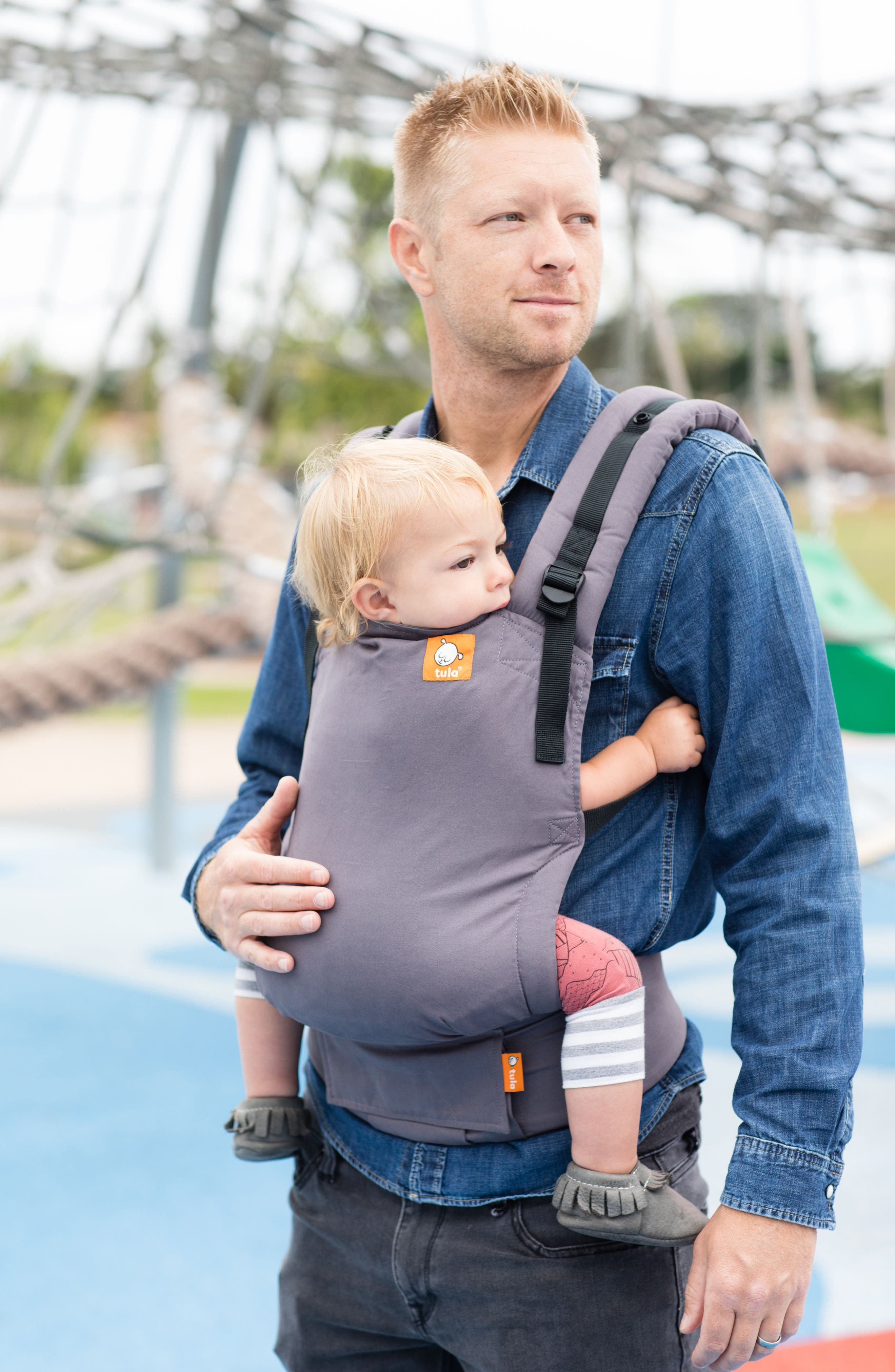 Stormy Free-to-Grow Baby Carrier,                             Alternate thumbnail 8, color,                             STORMY