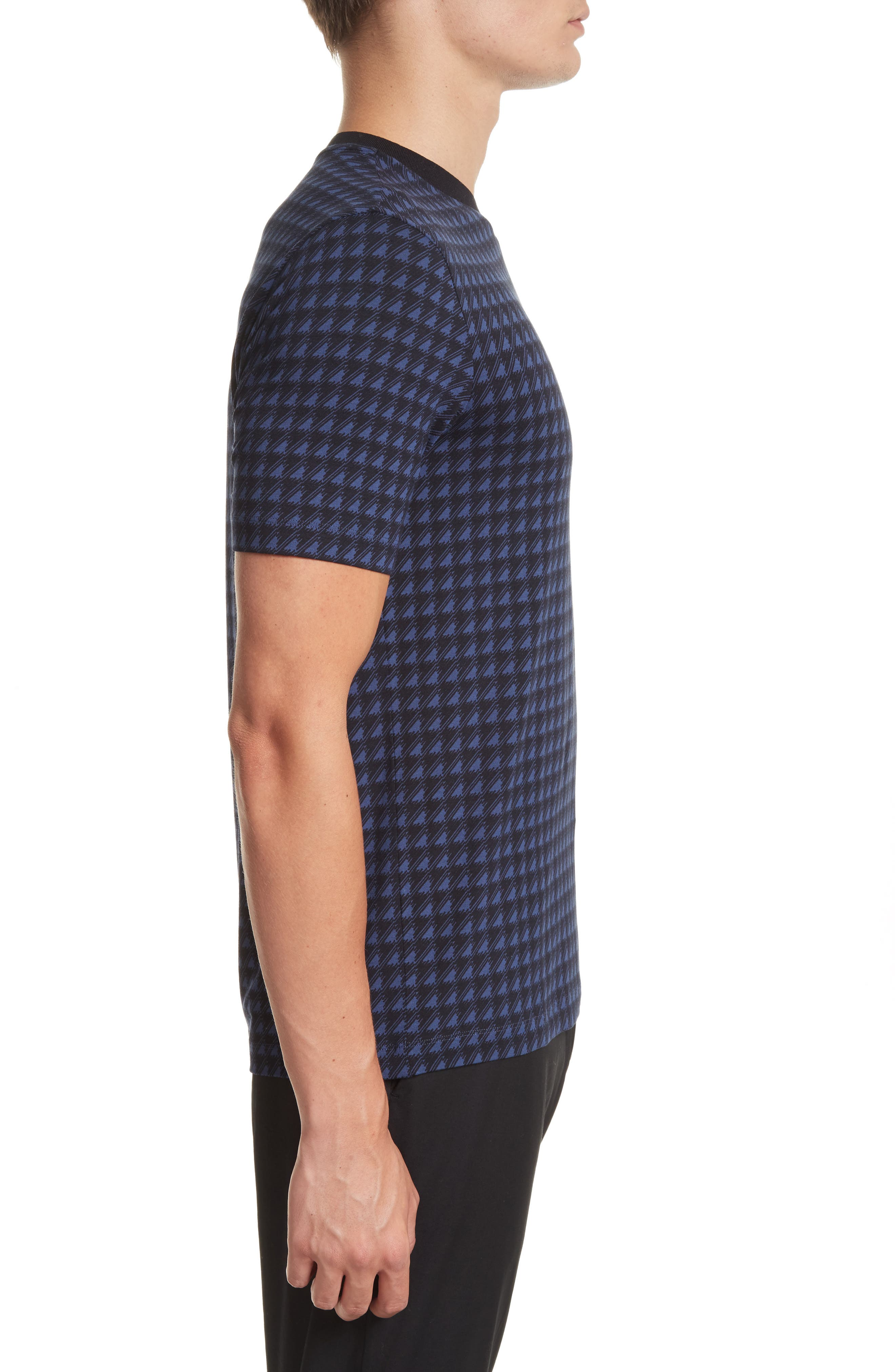 High V-Neck T-Shirt,                             Alternate thumbnail 3, color,                             482