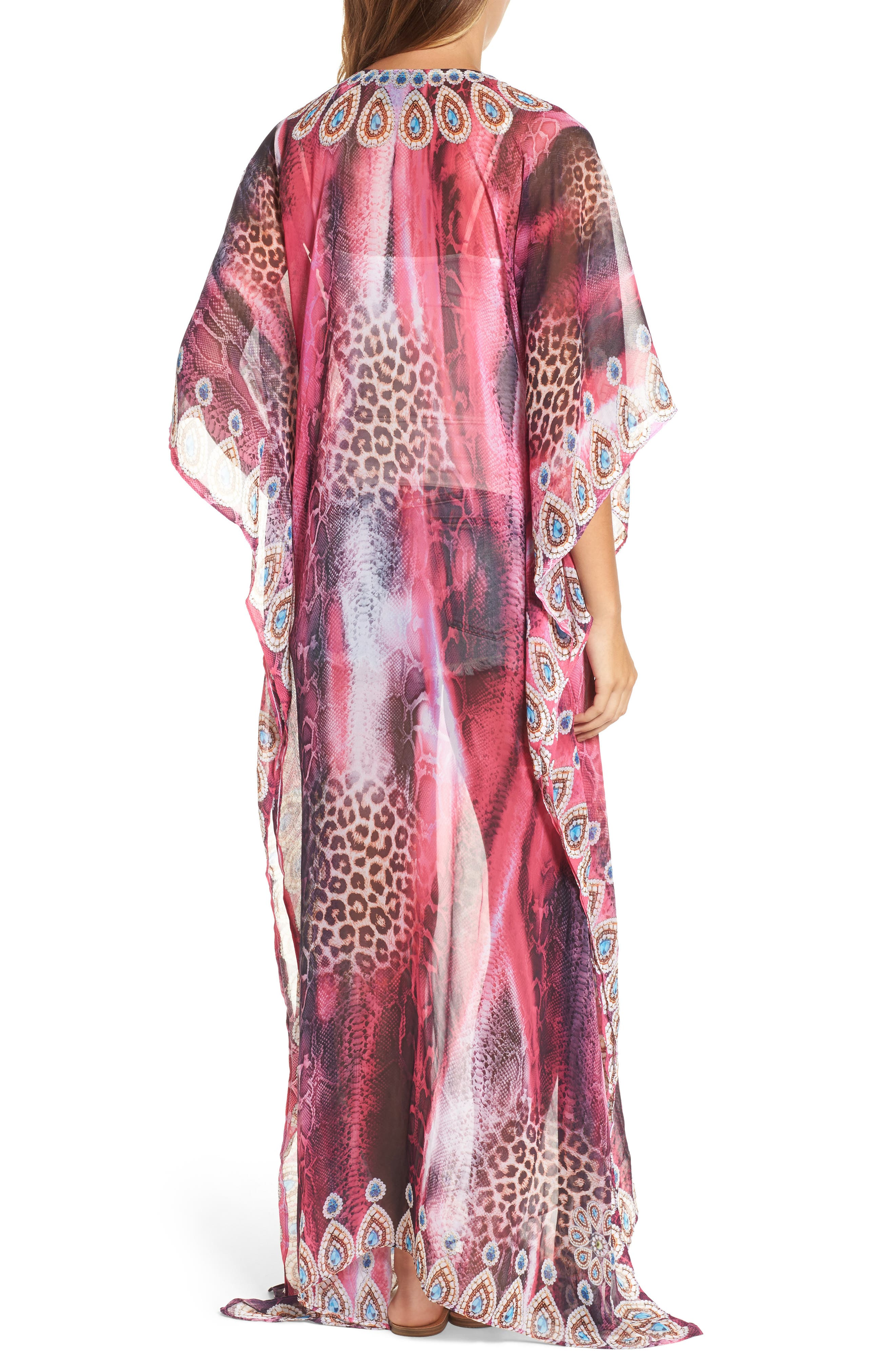 Marrakesh Long Kaftan,                             Alternate thumbnail 2, color,