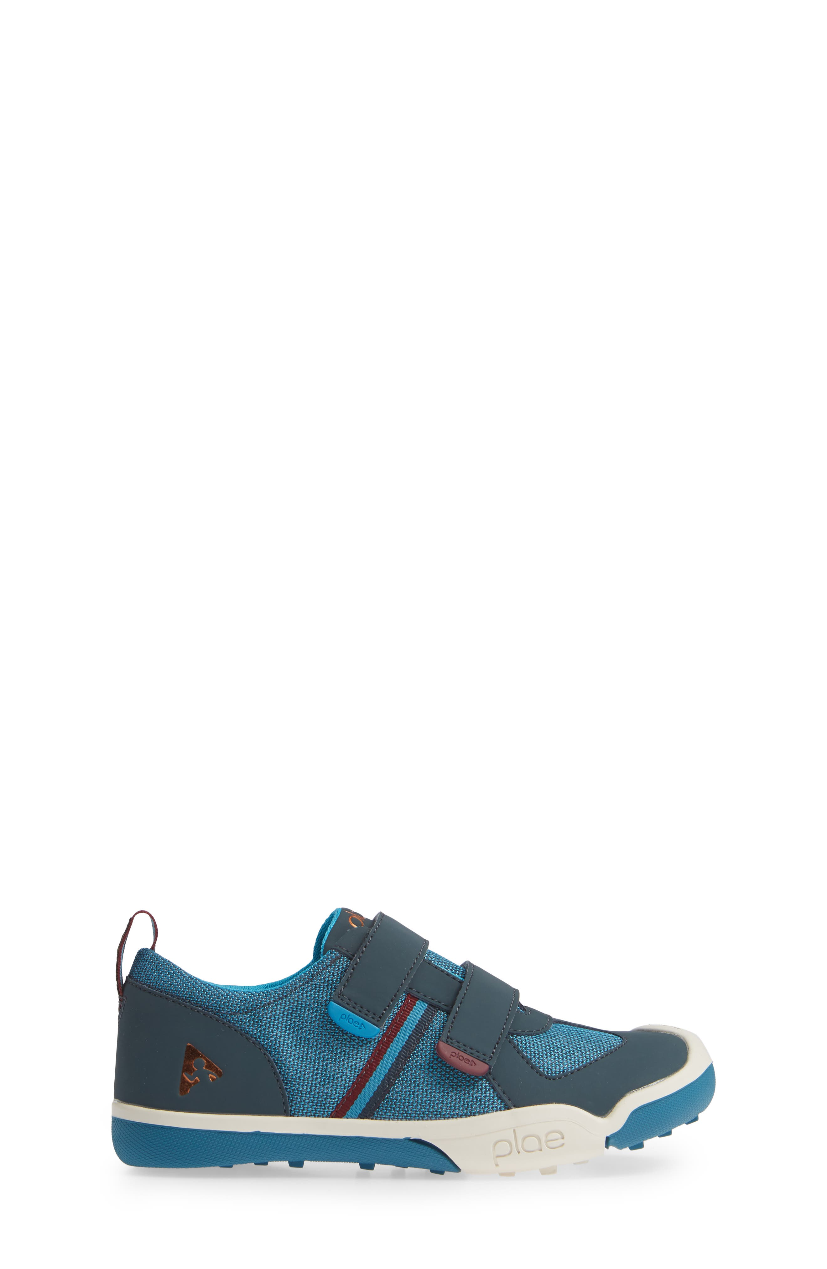 Charlie Customizable Sneaker,                             Alternate thumbnail 3, color,                             BLUE MARLIN