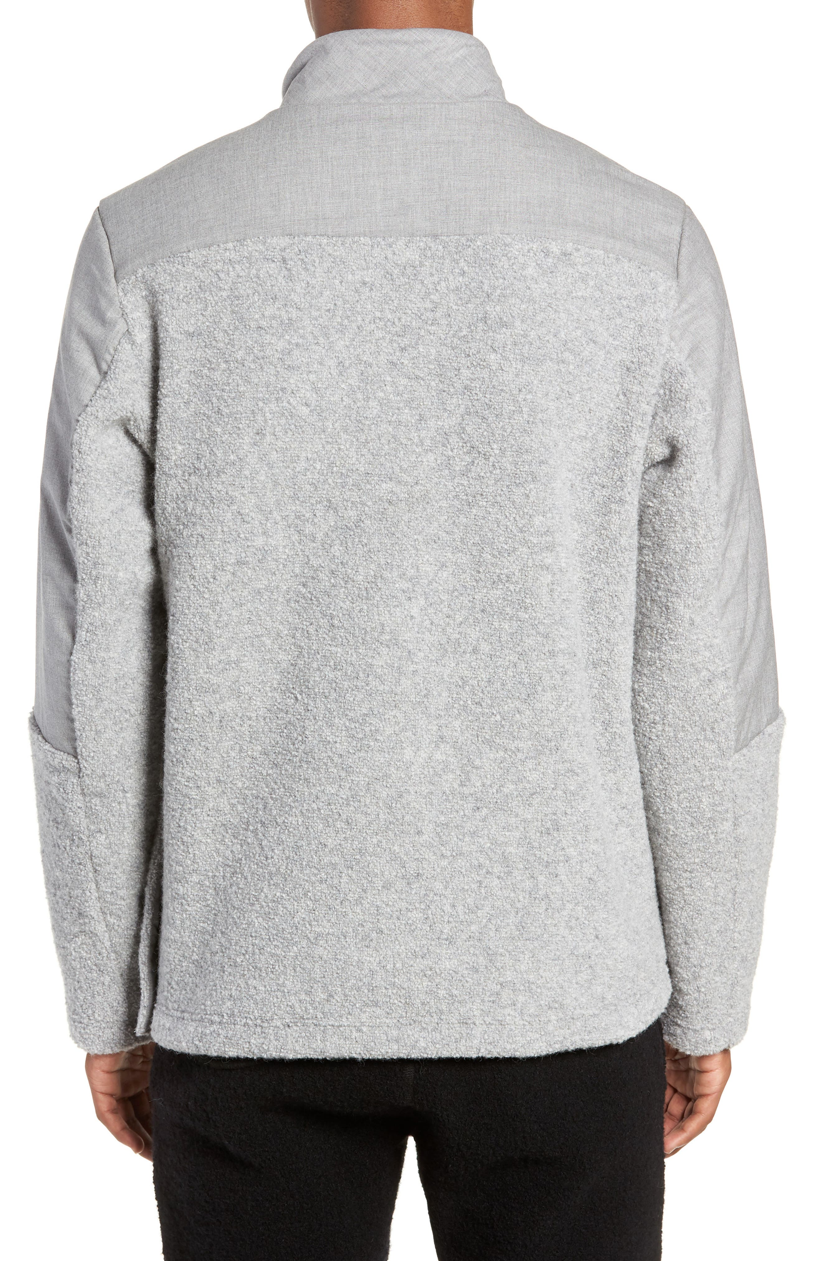 Tactical Fleece Pullover,                             Alternate thumbnail 2, color,                             HEATHER GREY