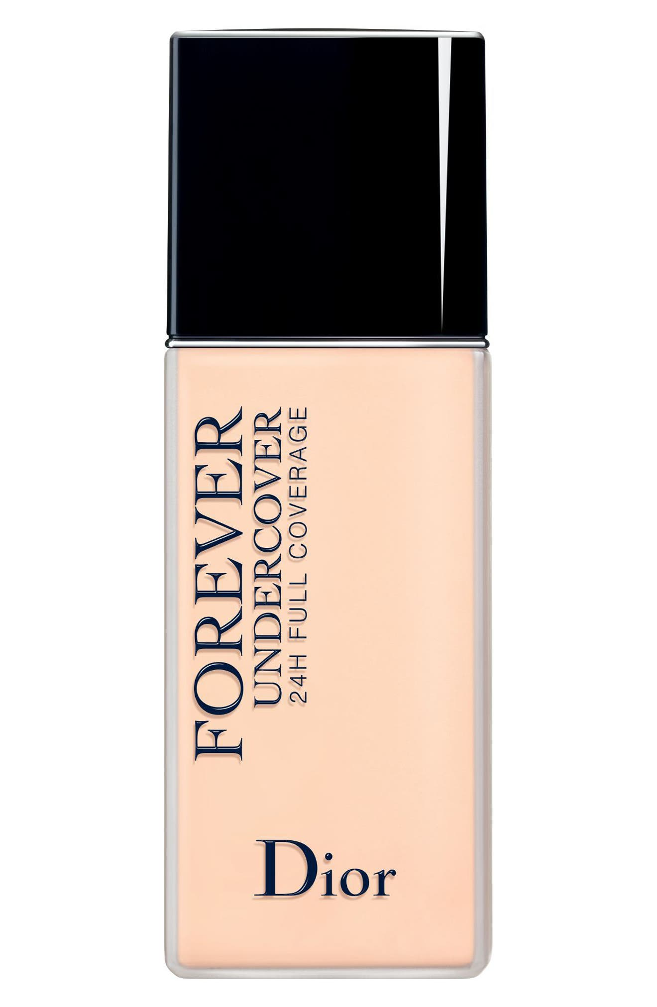 Dior Diorskin Forever Undercover 24-Hour Full Coverage Water-Based Foundation - 010 Ivory
