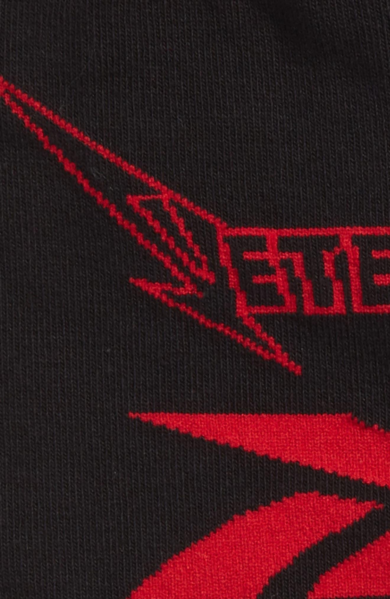 Metal Crew Socks,                             Alternate thumbnail 2, color,                             001