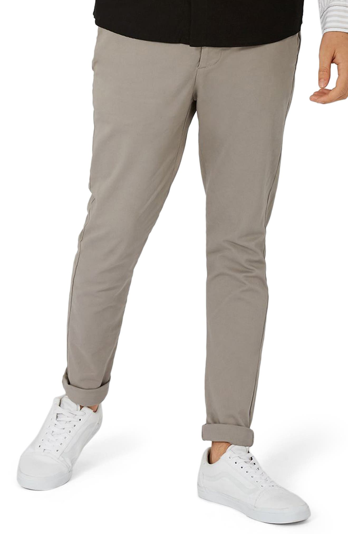 Skinny Fit Chinos,                         Main,                         color,