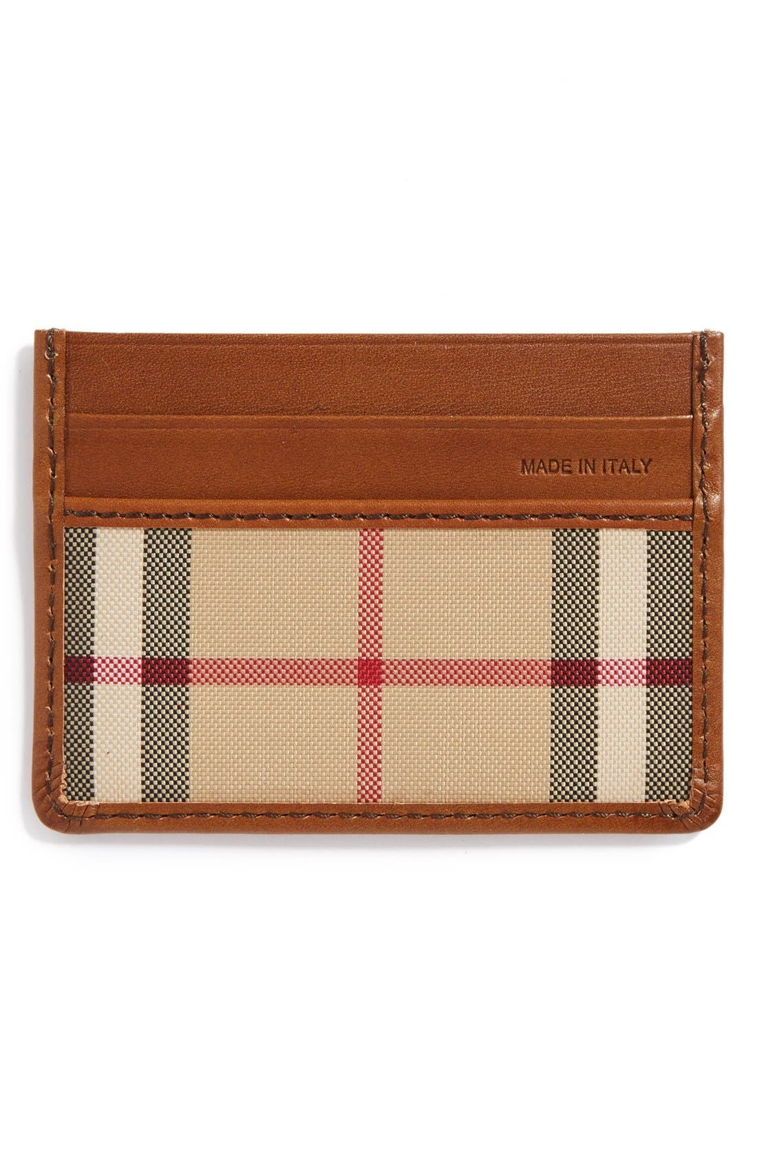 Sandon Horseferry Check Card Case,                             Alternate thumbnail 2, color,                             216