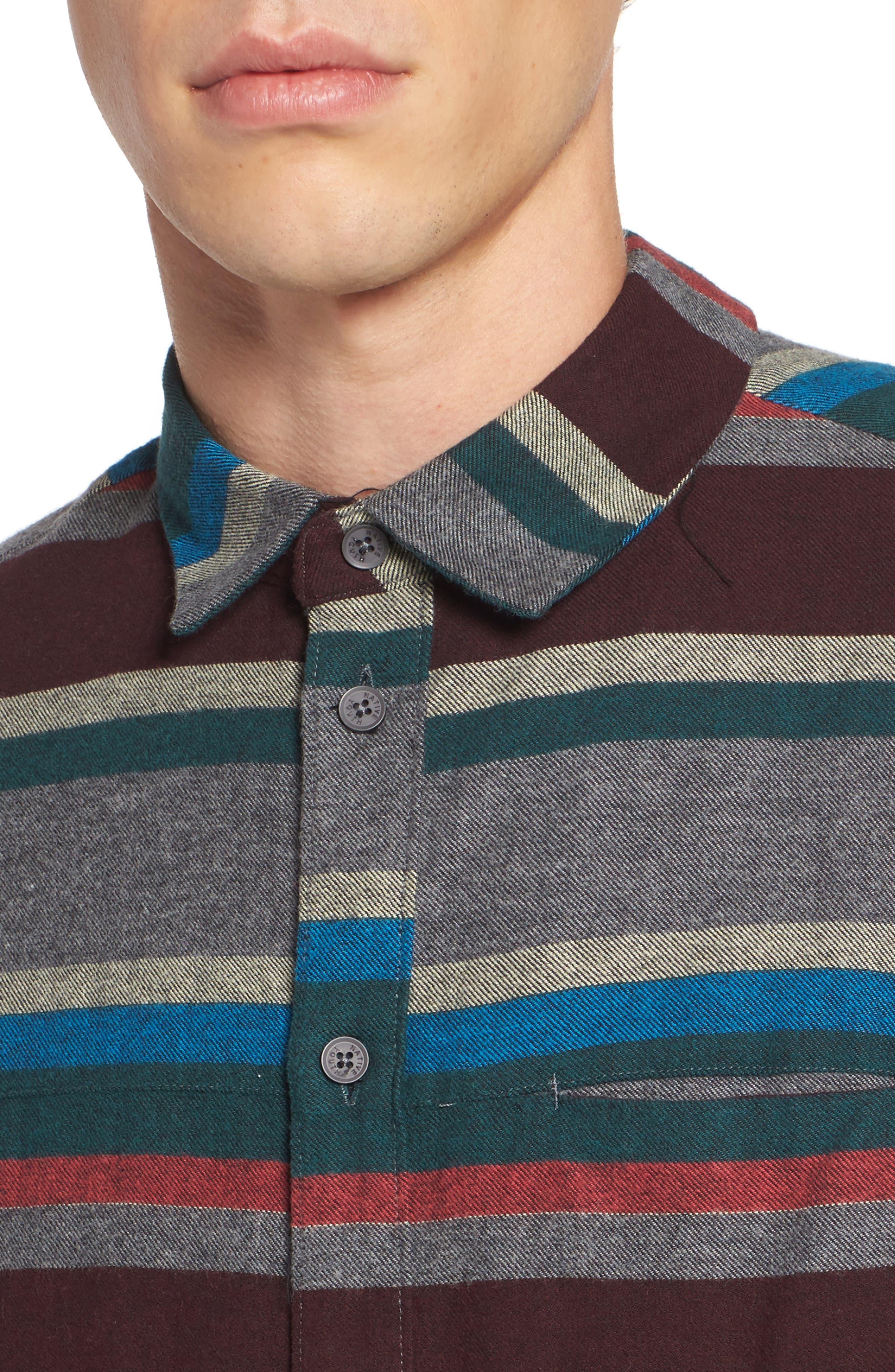 Arcot Woven Shirt,                             Alternate thumbnail 4, color,                             020