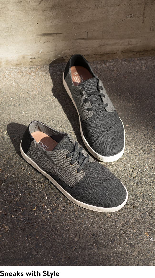 TOMS sneakers for men.