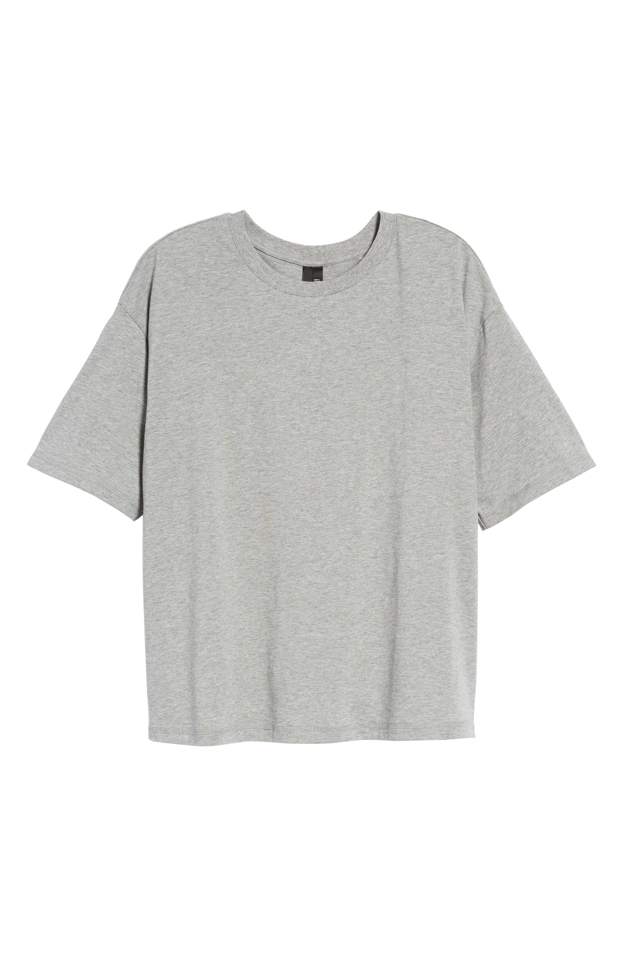 Boxy T-Shirt,                             Alternate thumbnail 7, color,                             020