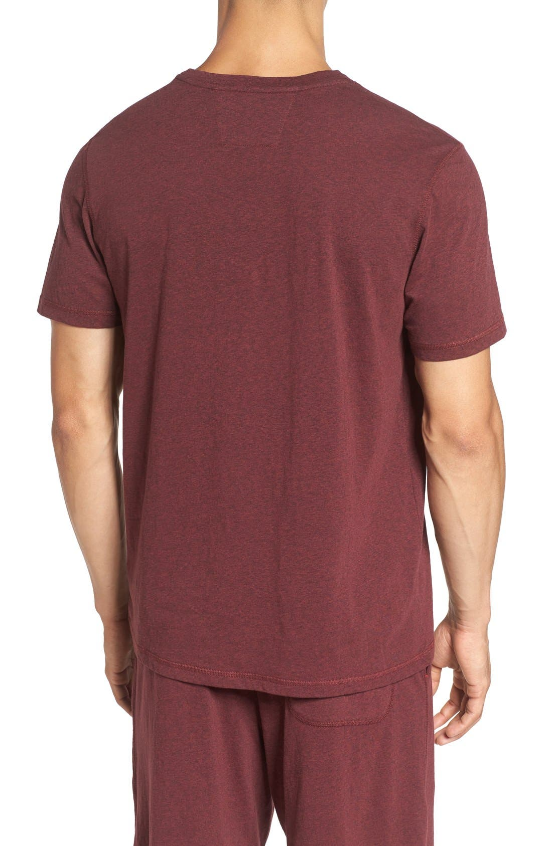 Recycled Cotton Blend T-Shirt,                             Alternate thumbnail 6, color,