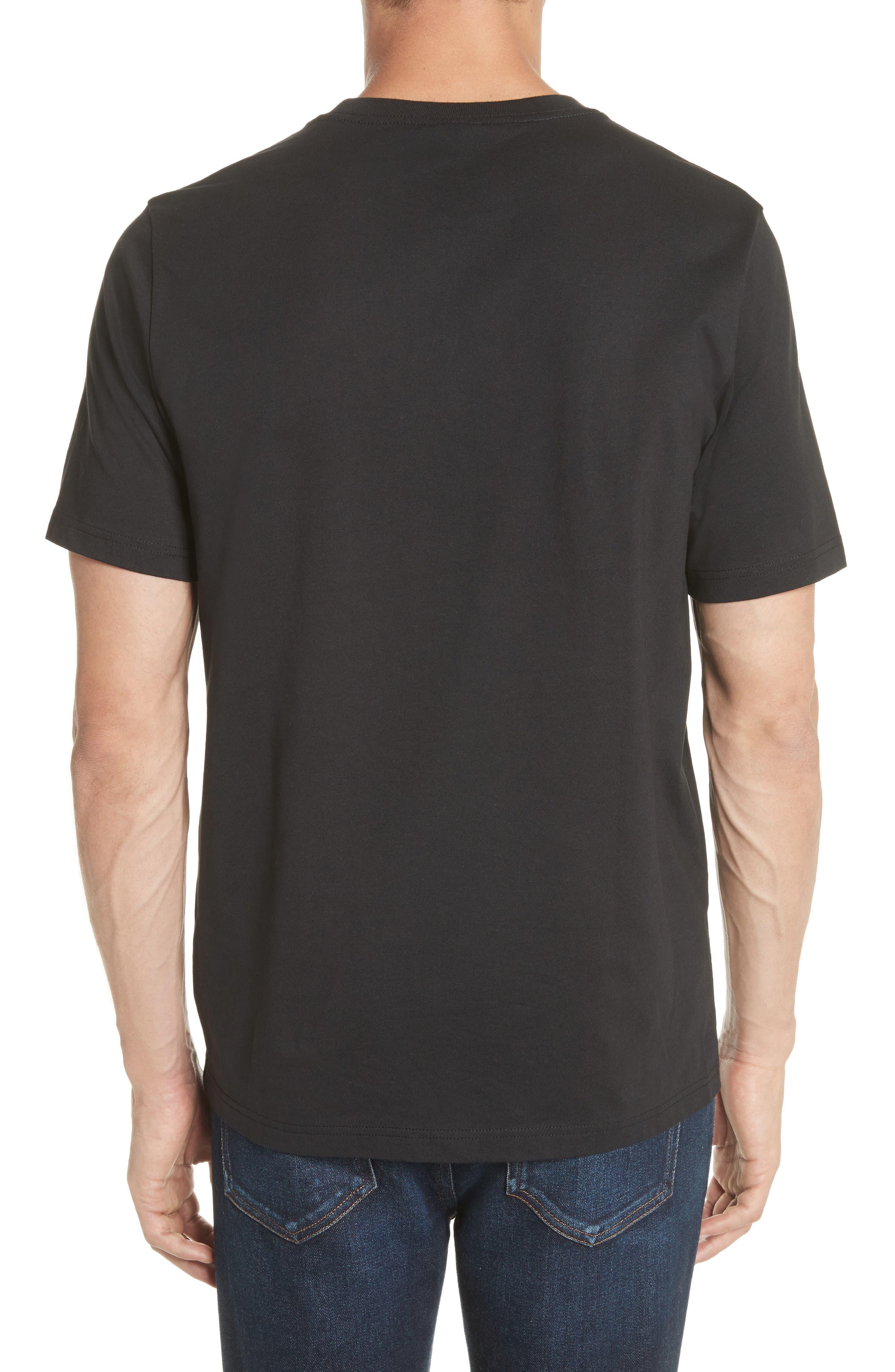 Dino Graphic T-Shirt,                             Alternate thumbnail 2, color,                             BLACK
