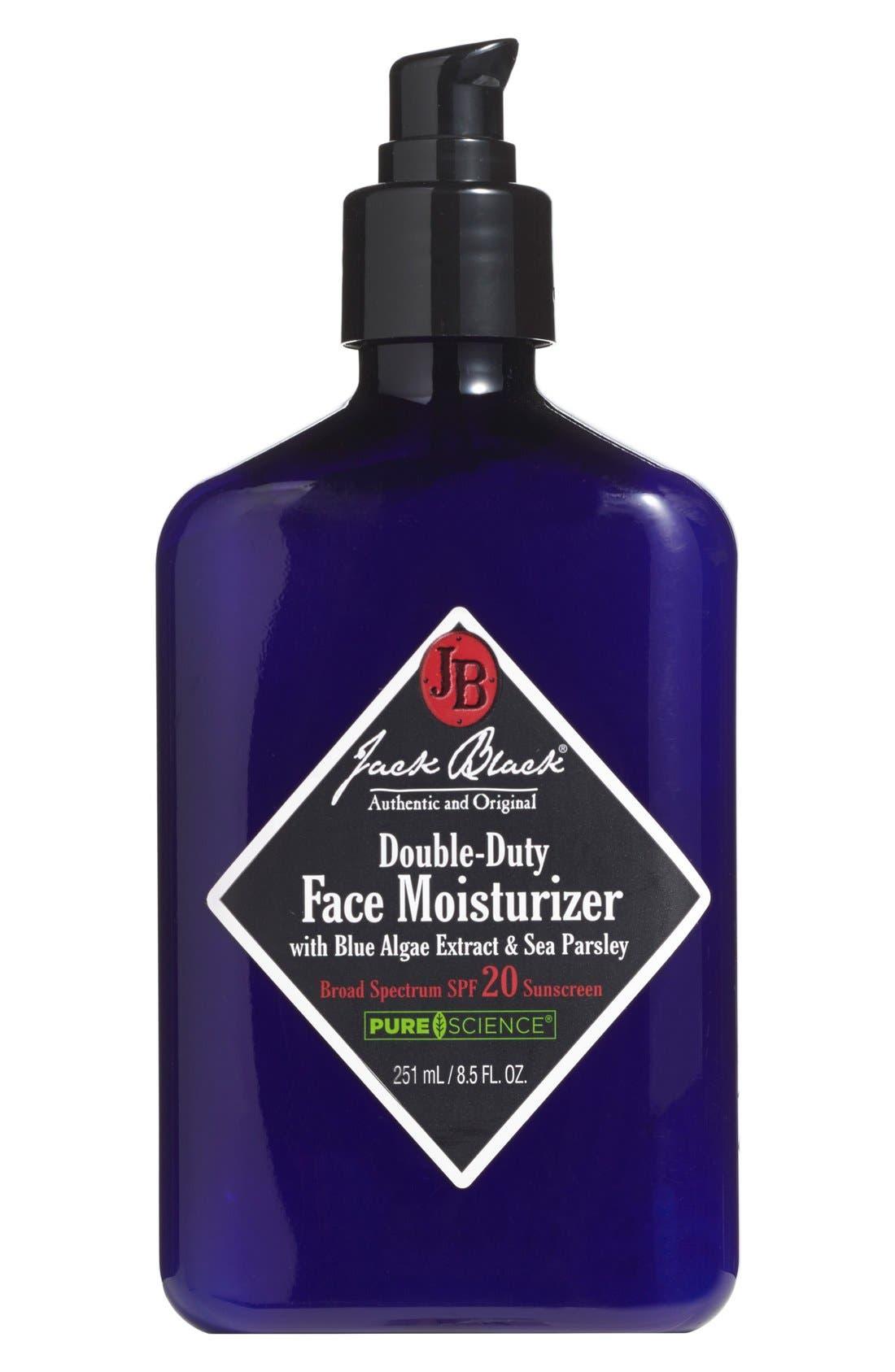 Double-Duty Face Moisturizer SPF 20,                             Alternate thumbnail 2, color,                             NO COLOR