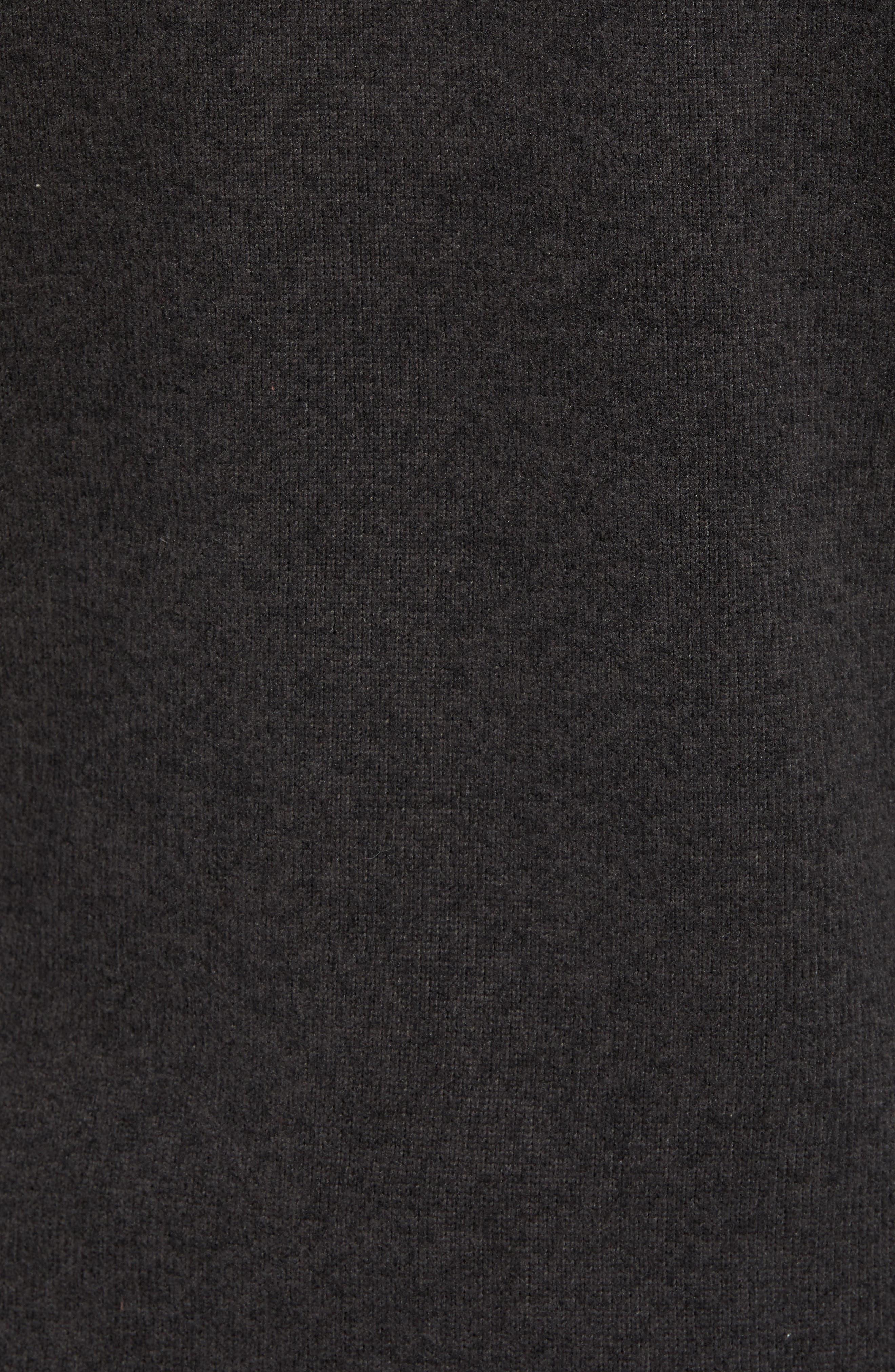 Gordon Lyons Relaxed Fit Sweater Fleece Hoodie,                             Alternate thumbnail 6, color,                             TNF BLACK HEATHER