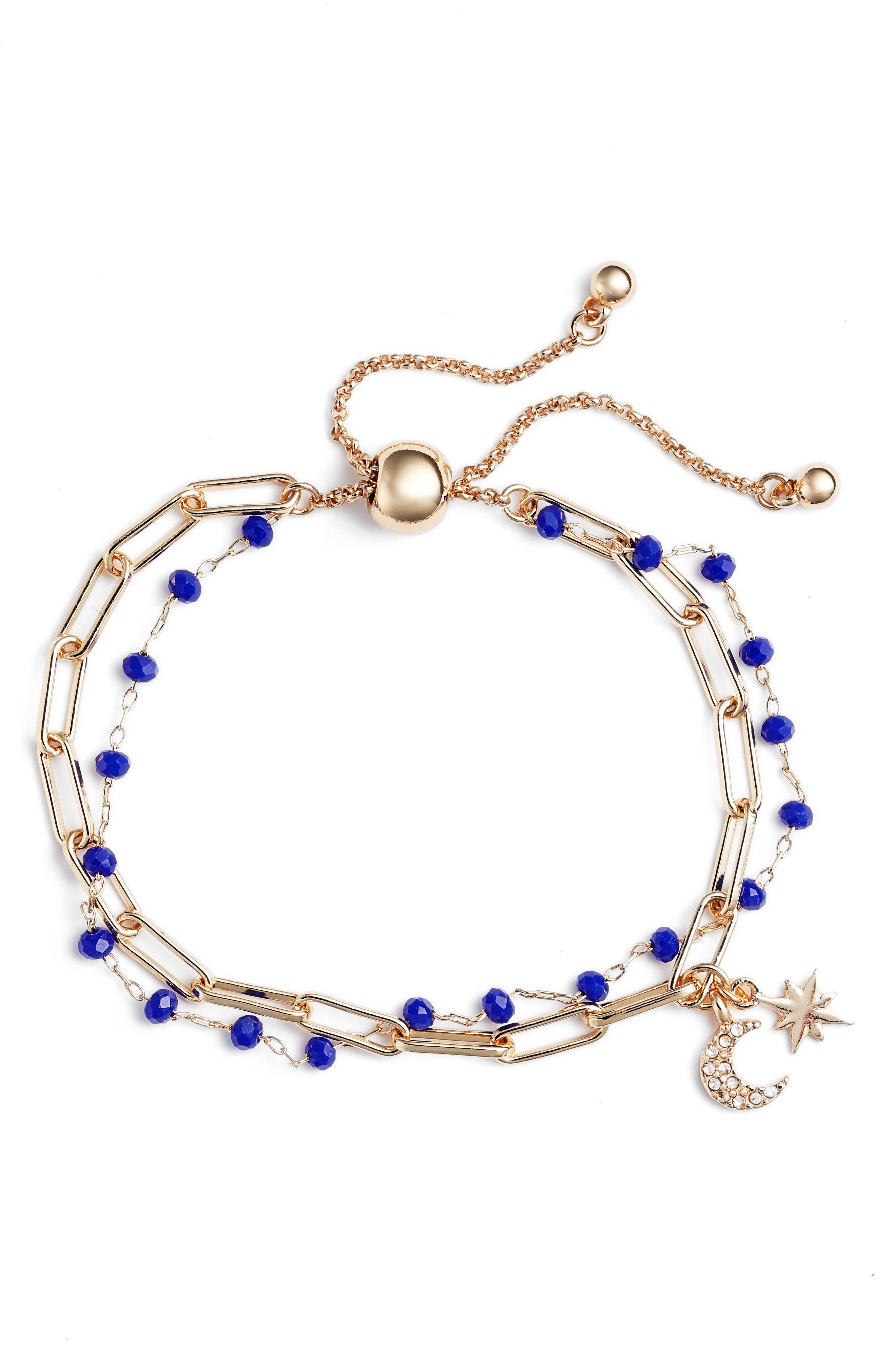 Rosary Bead Layered Bracelet, Main, color, 420