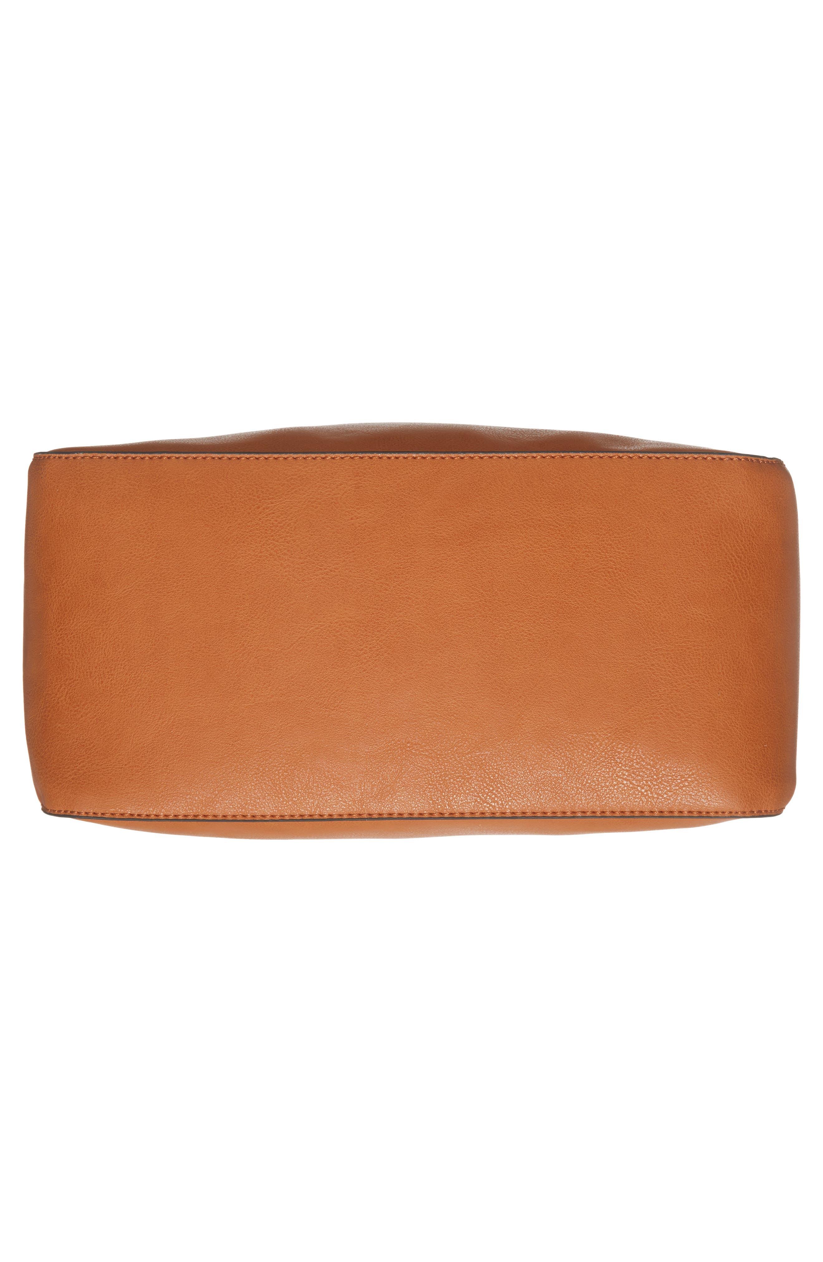 Alani Faux Leather Shoulder Bag,                             Alternate thumbnail 12, color,