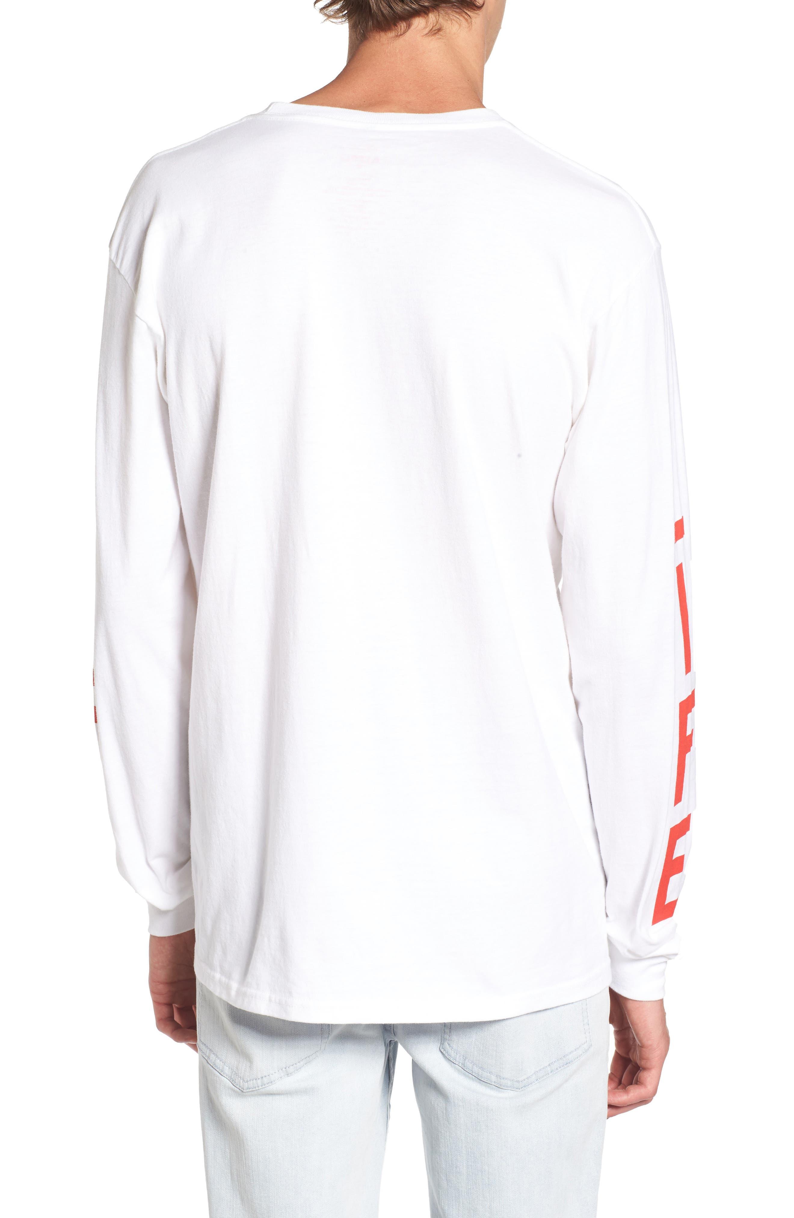 Life Logo Long Sleeve T-Shirt,                             Alternate thumbnail 2, color,                             100