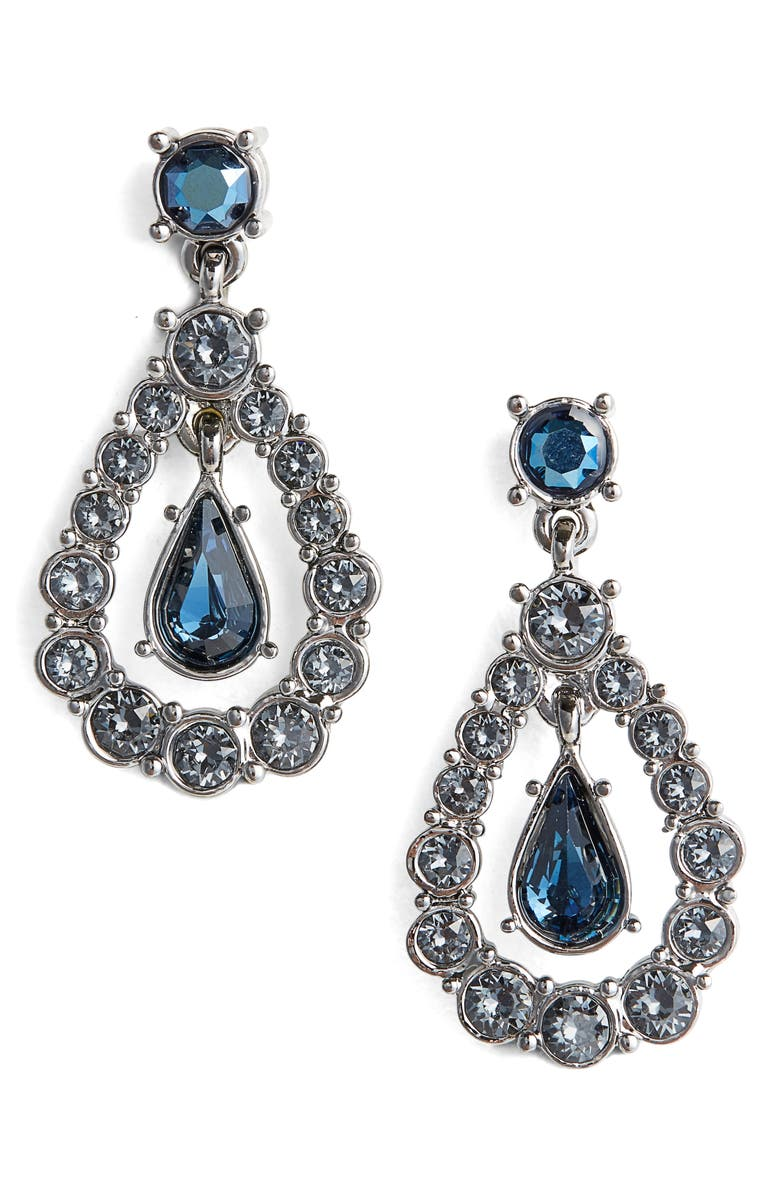 72463ba92 St. John Collection Swarovski Crystal Drop Earrings | Nordstrom
