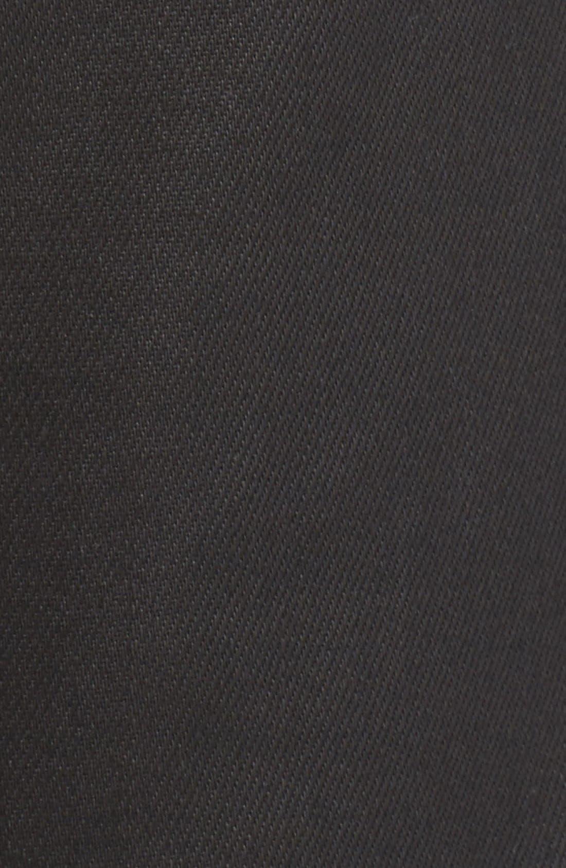 Westham Raw Stretch Denim Moto Jeans,                             Alternate thumbnail 4, color,                             001