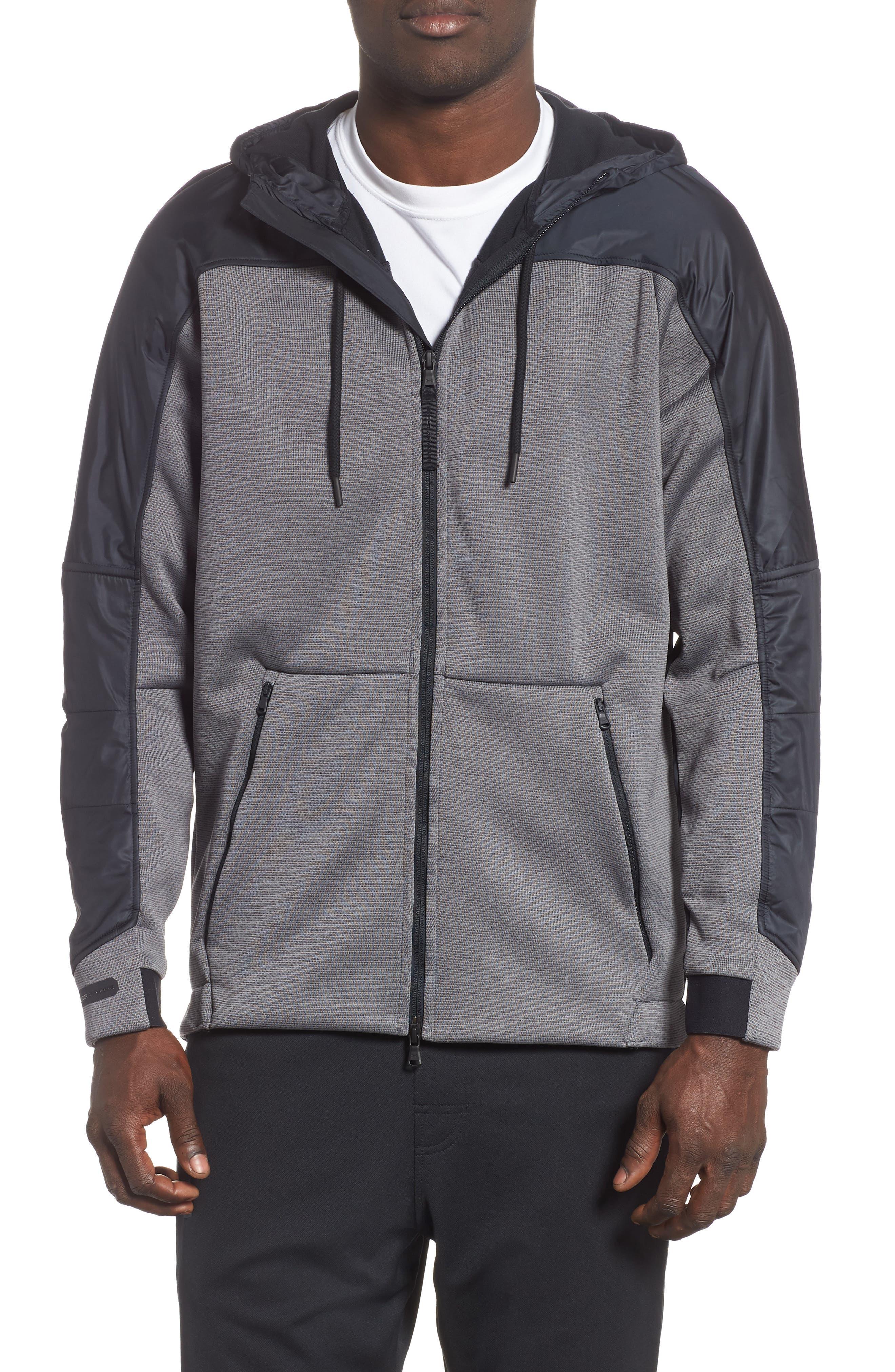 Unstoppable ColdGear<sup>®</sup> Jacket,                         Main,                         color, CHARCOAL/ BLACK