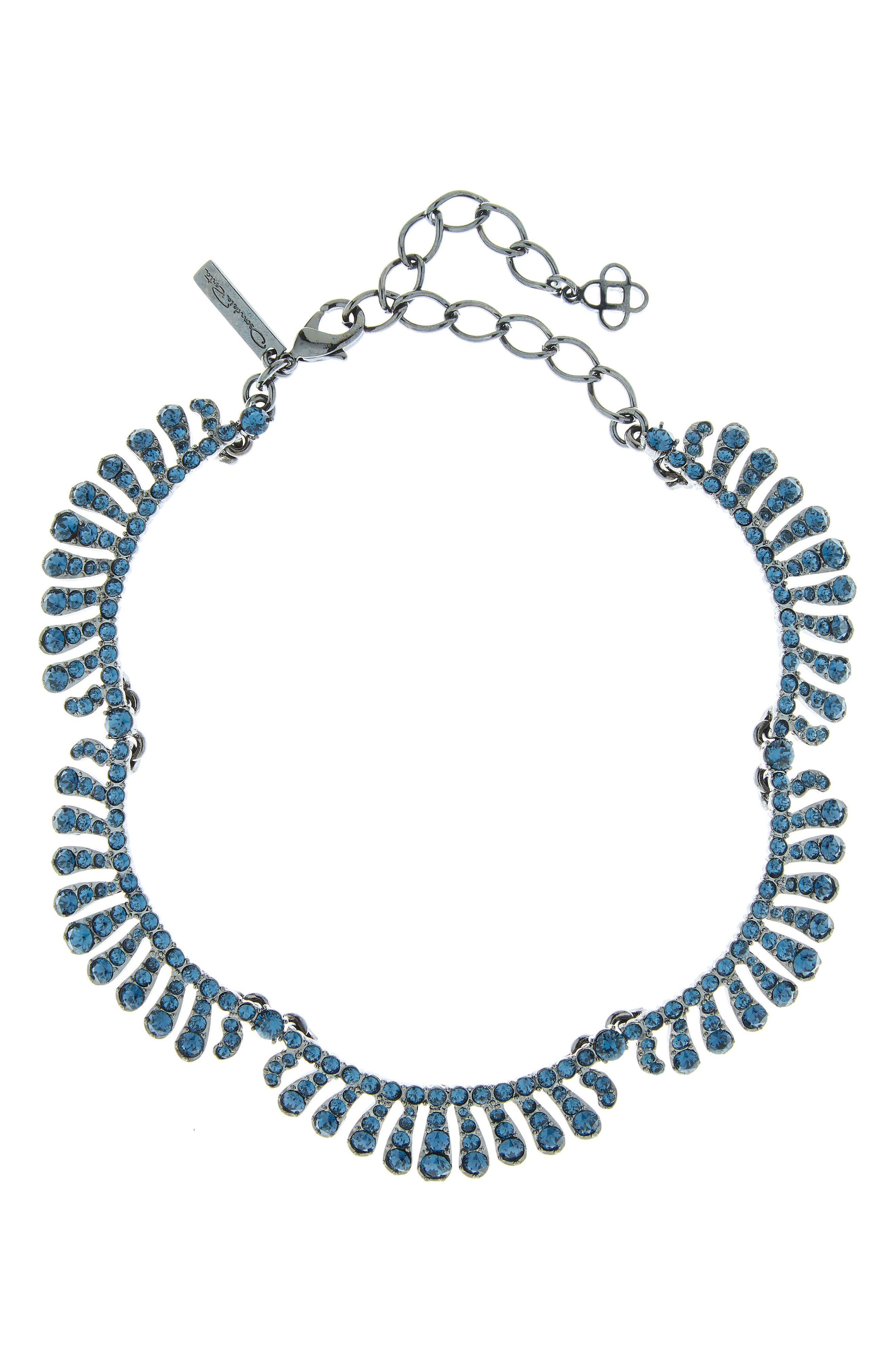 Crystal Collar Necklace,                             Main thumbnail 1, color,                             MONTANA