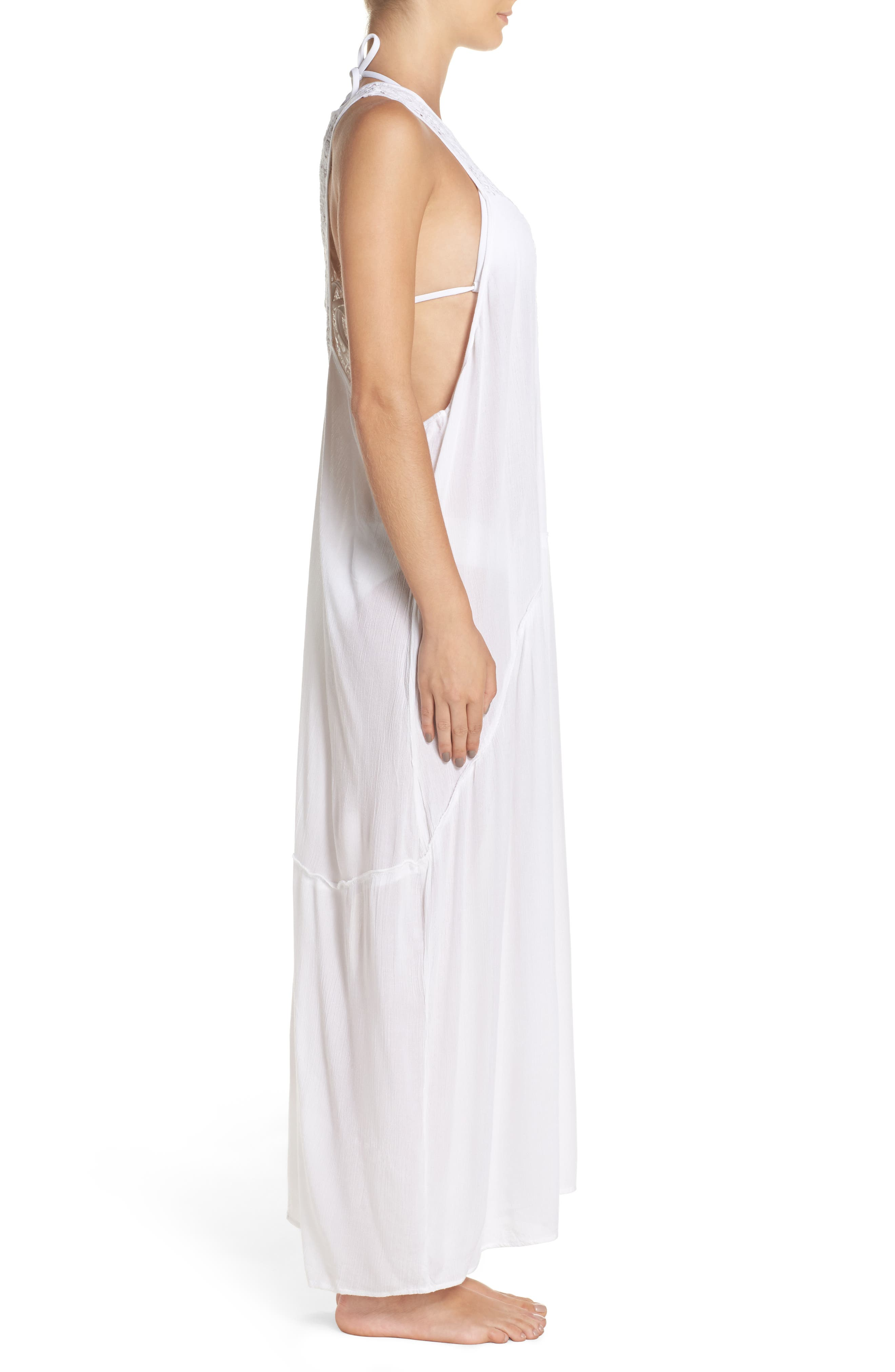 Cover-Up Dress,                             Alternate thumbnail 3, color,                             100
