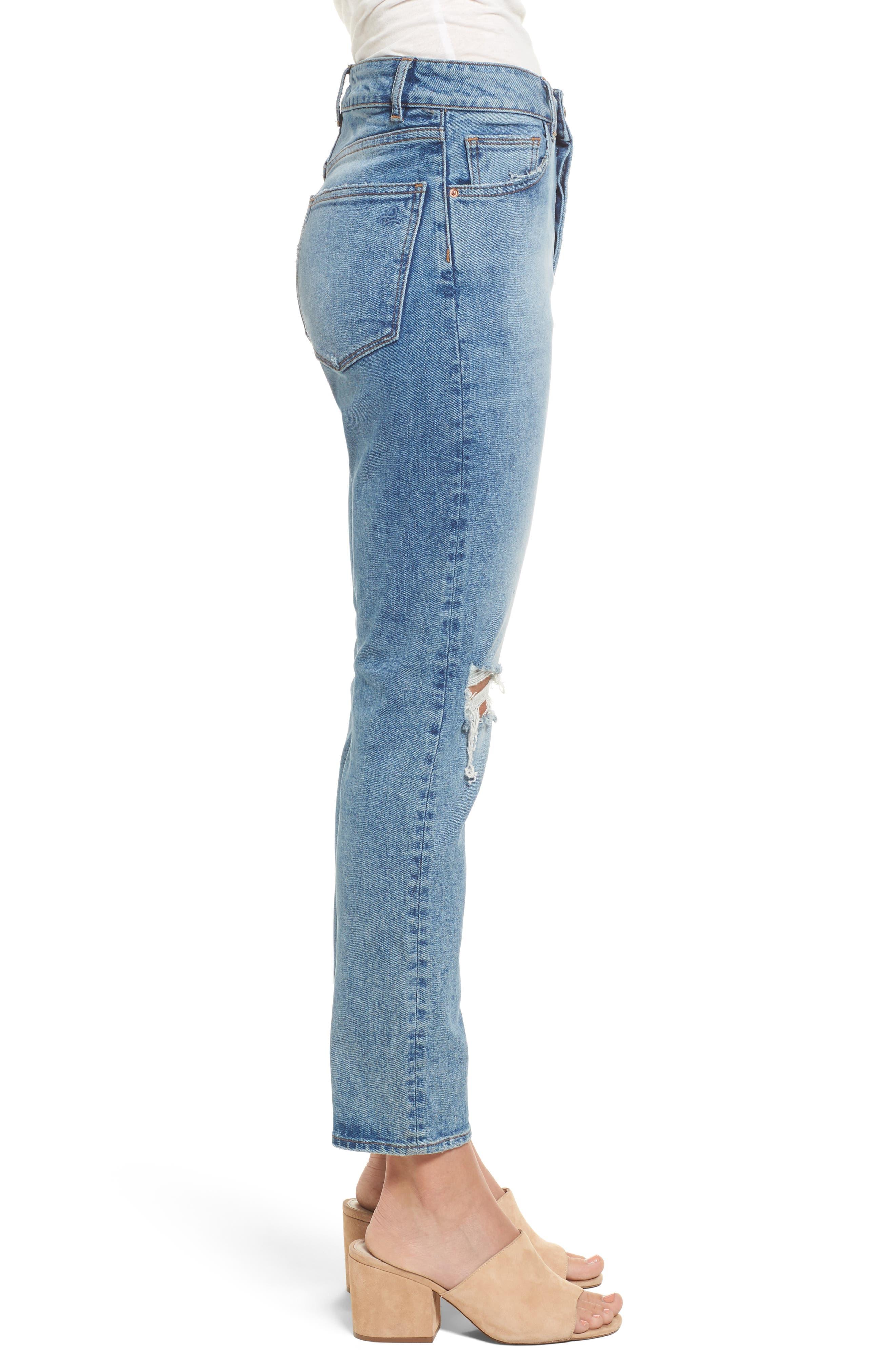 Bella Vintage Ankle Skinny Jeans,                             Alternate thumbnail 3, color,                             430