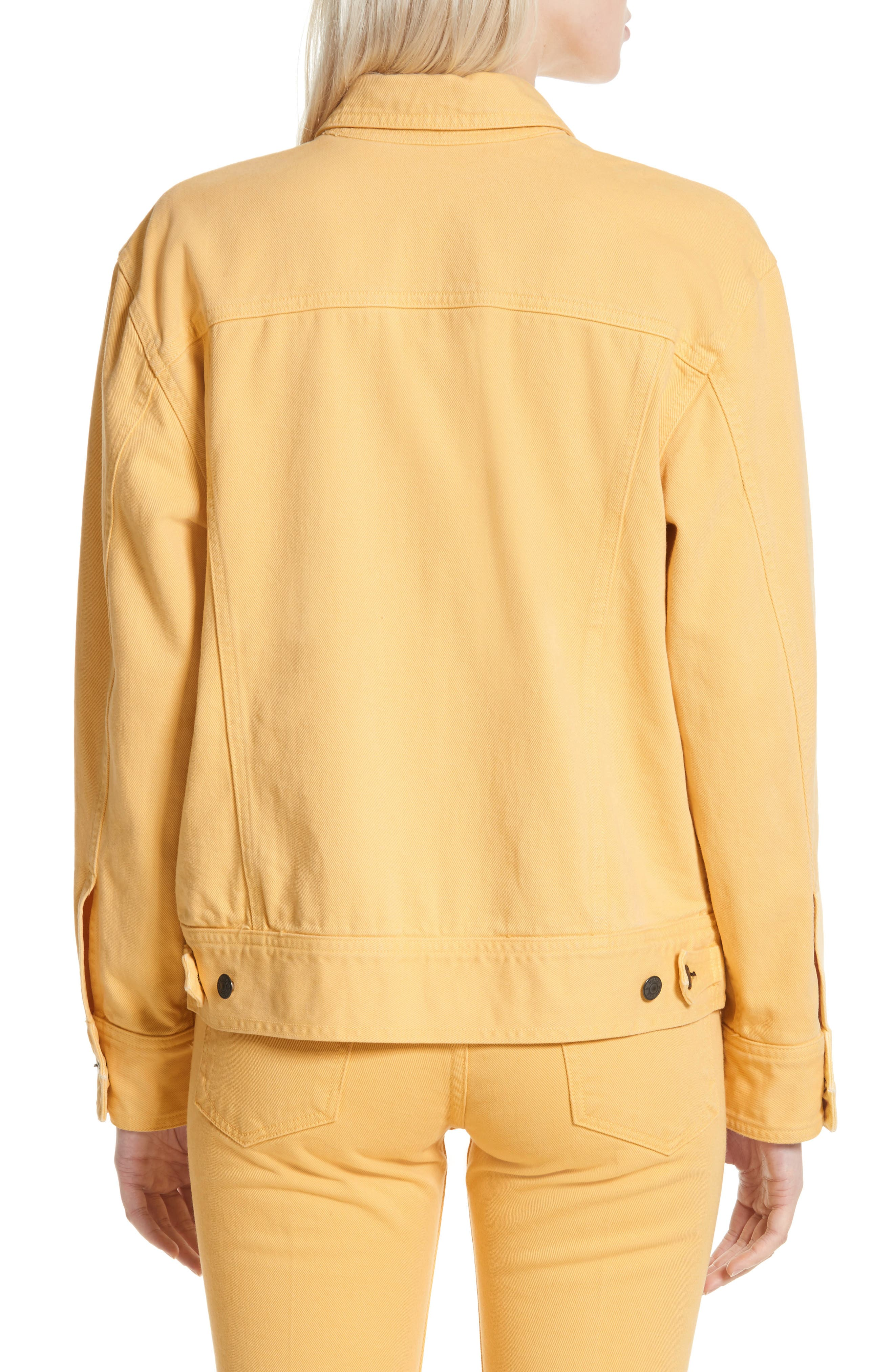 rag & bone Oversize Twill Jacket,                             Alternate thumbnail 2, color,
