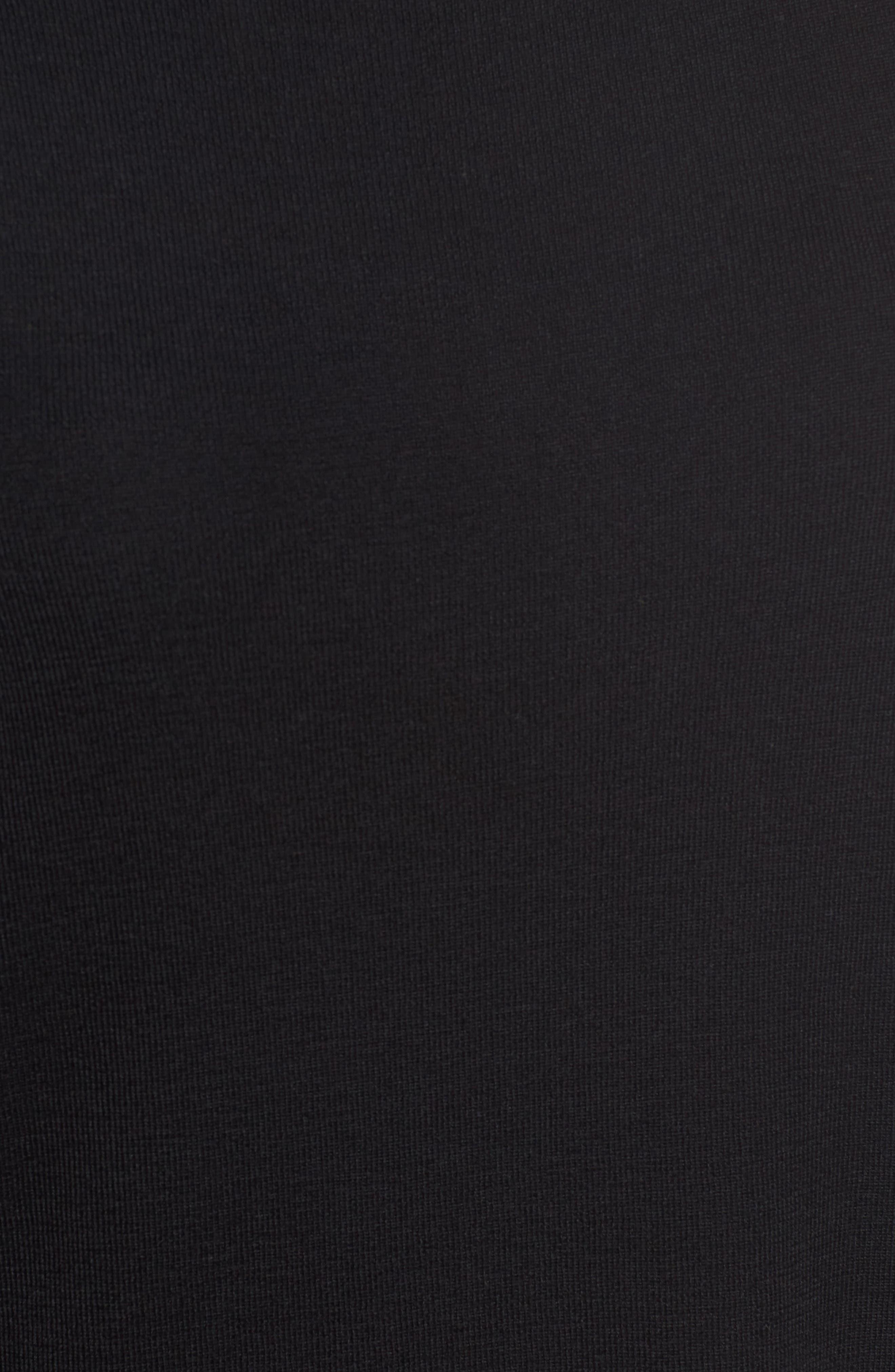 Merino Wool Tunic,                             Alternate thumbnail 5, color,                             001