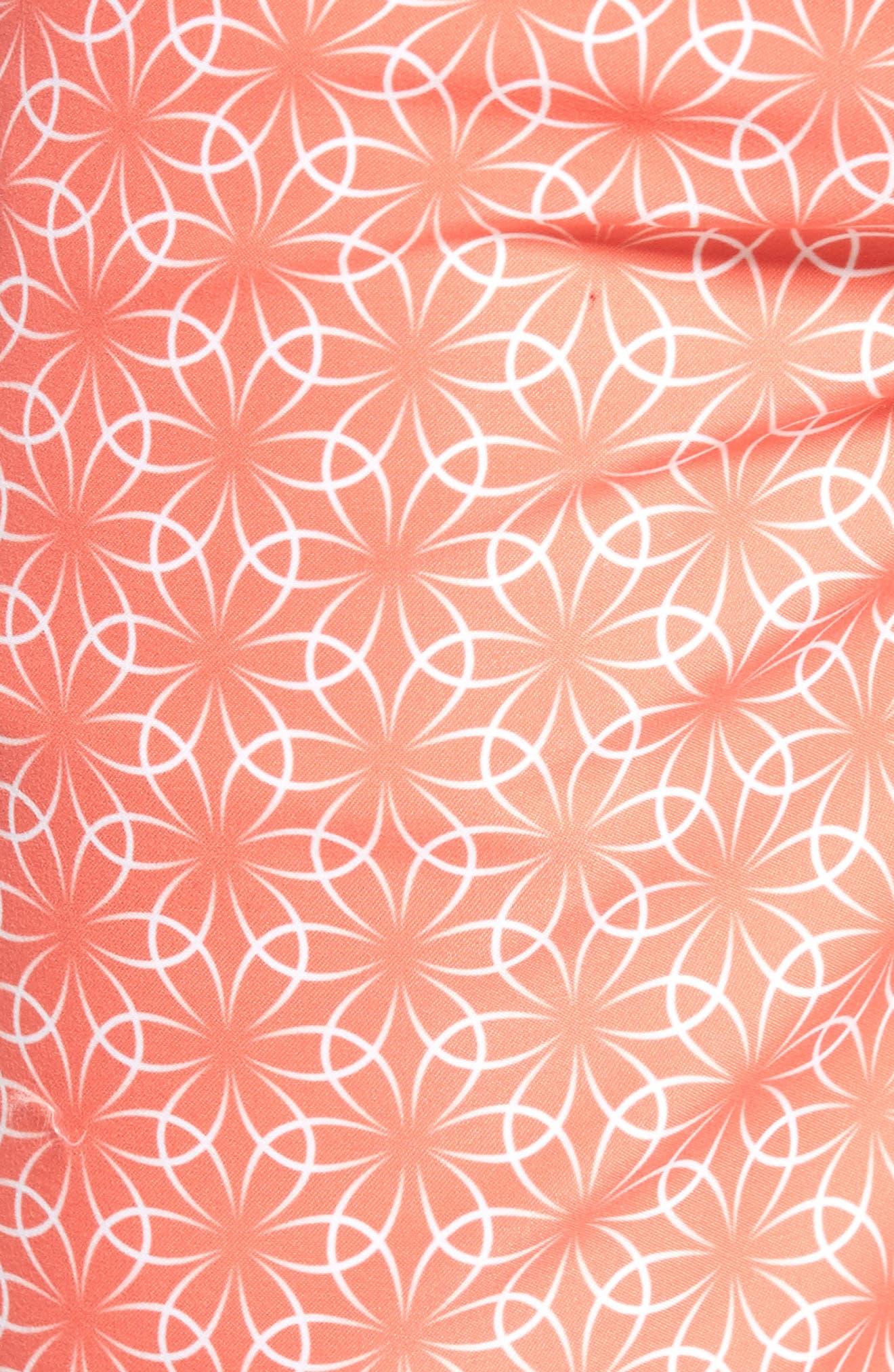 Gradient Flower Board Shorts,                             Alternate thumbnail 5, color,