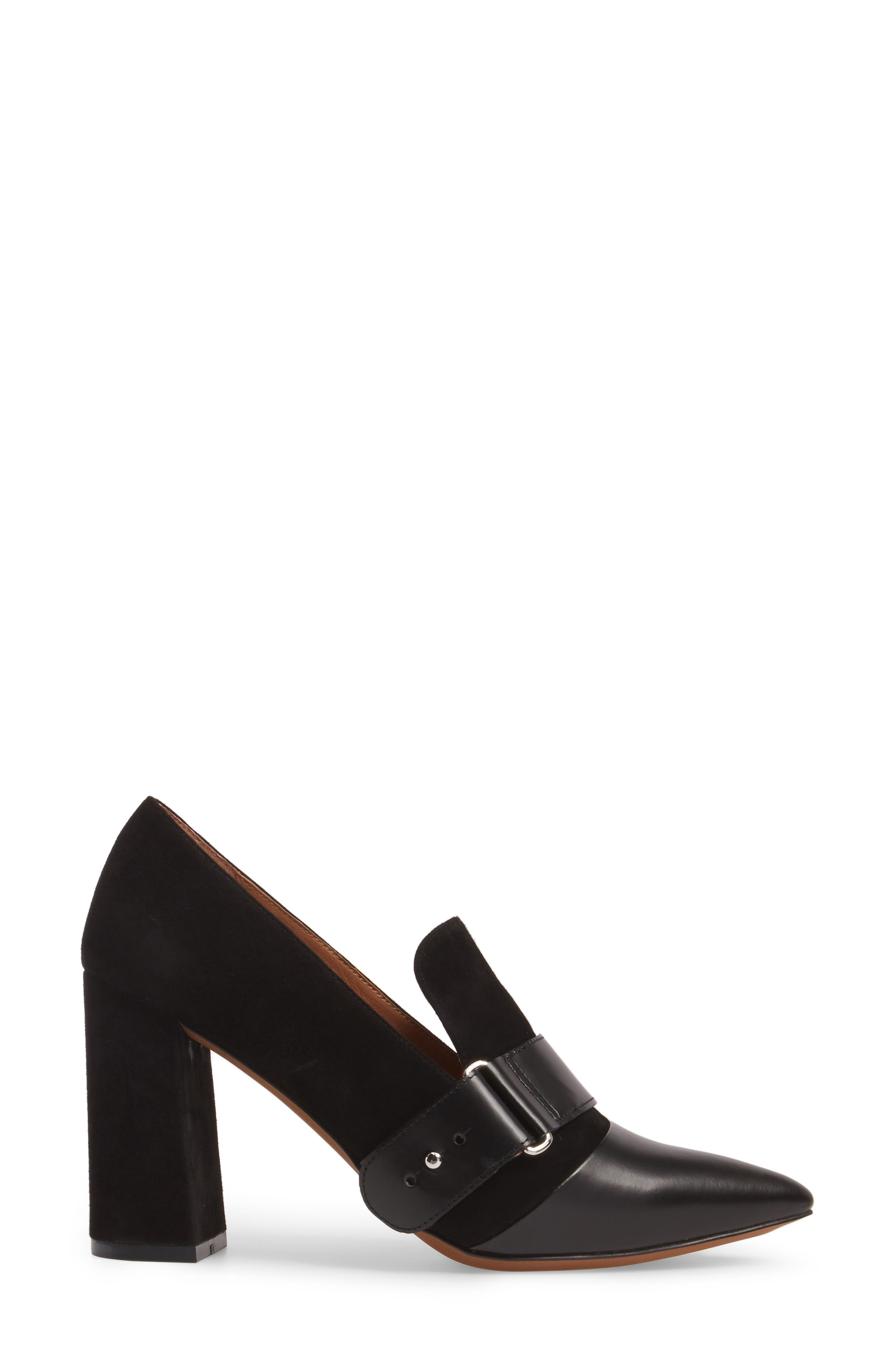 Casidy Buckle Pump,                             Alternate thumbnail 3, color,                             001