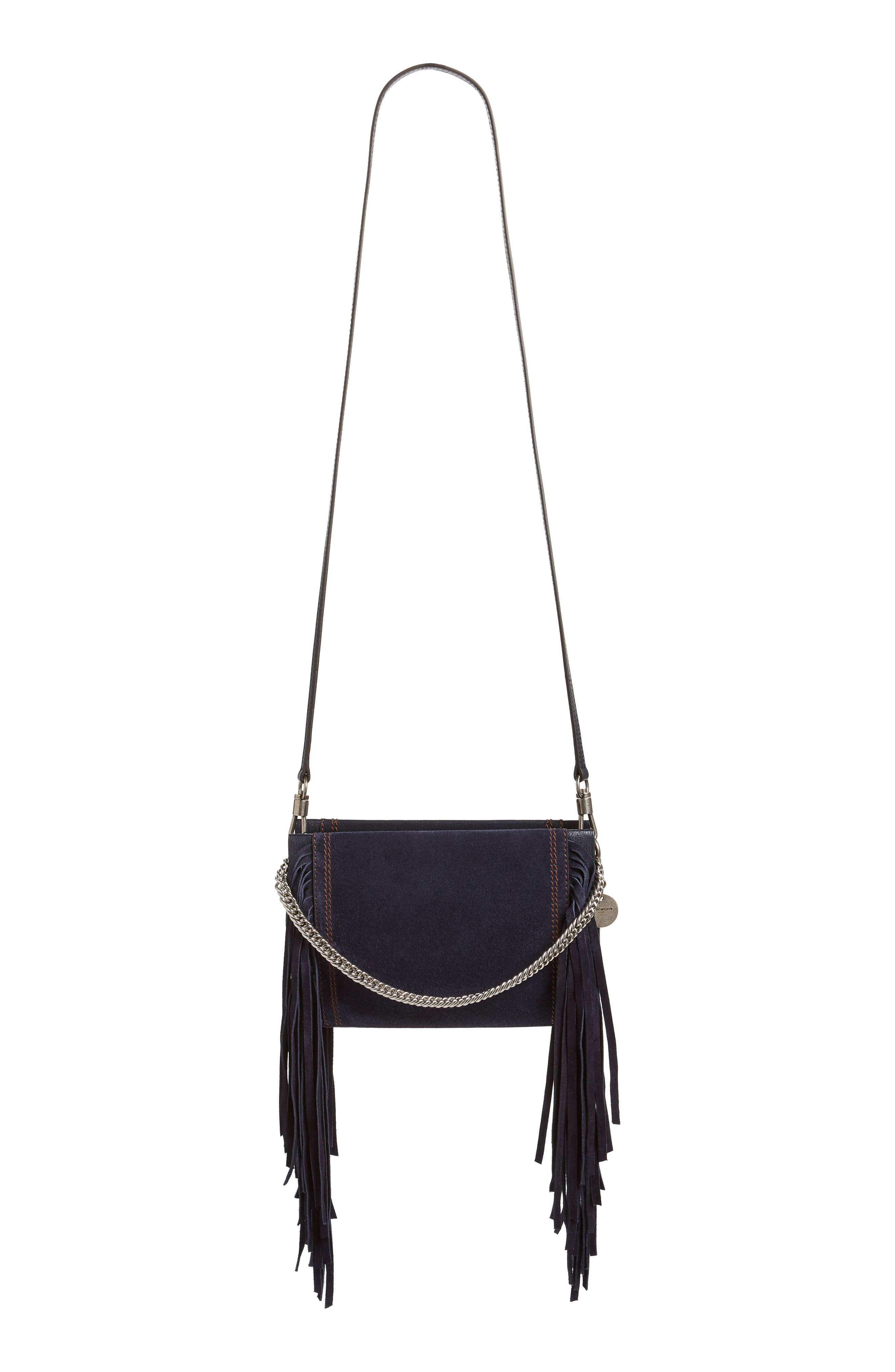 Cross 3 Fringe Leather Crossbody Bag,                             Alternate thumbnail 2, color,                             401