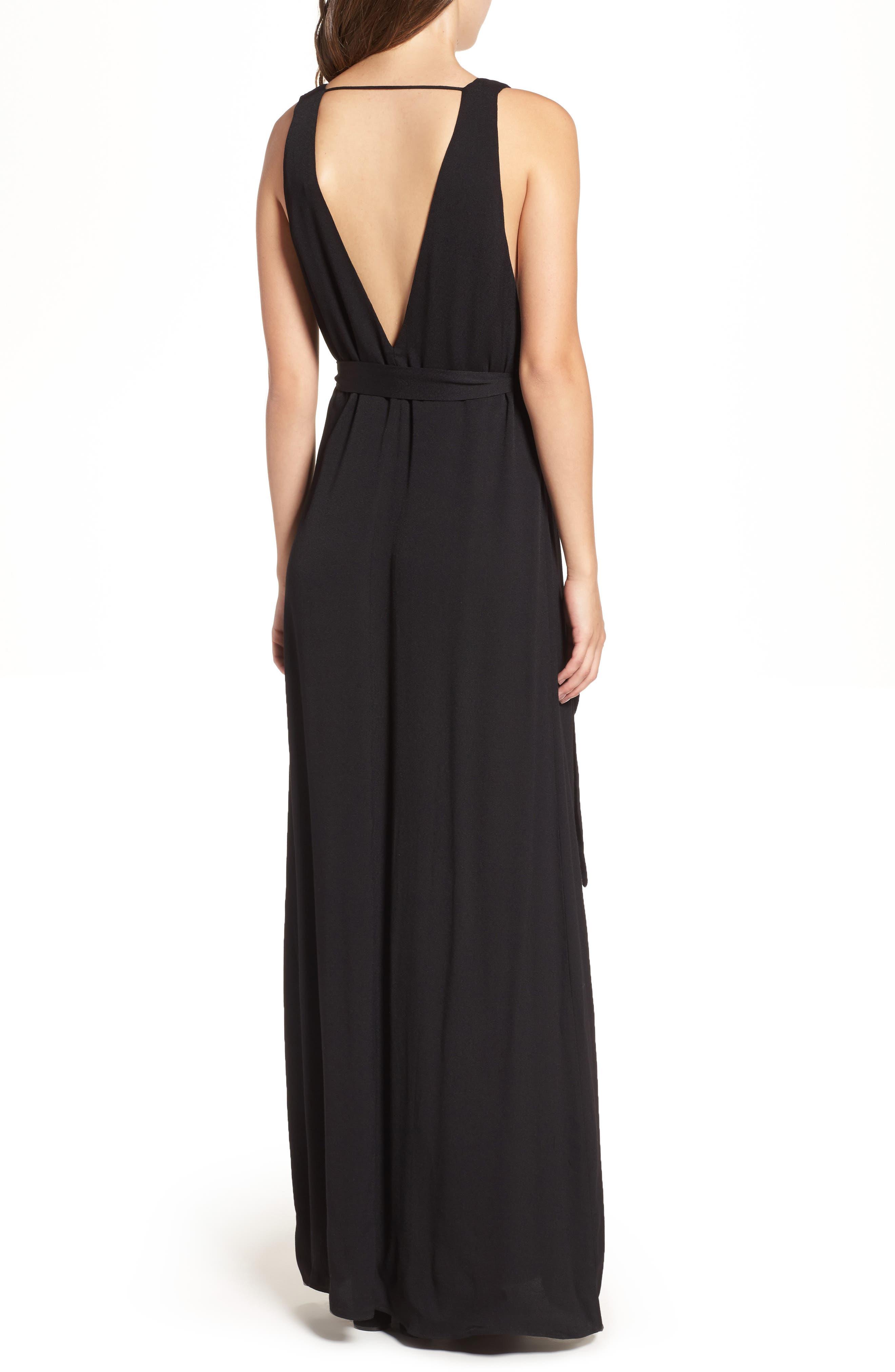 Rowan Maxi Dress,                             Alternate thumbnail 2, color,                             001