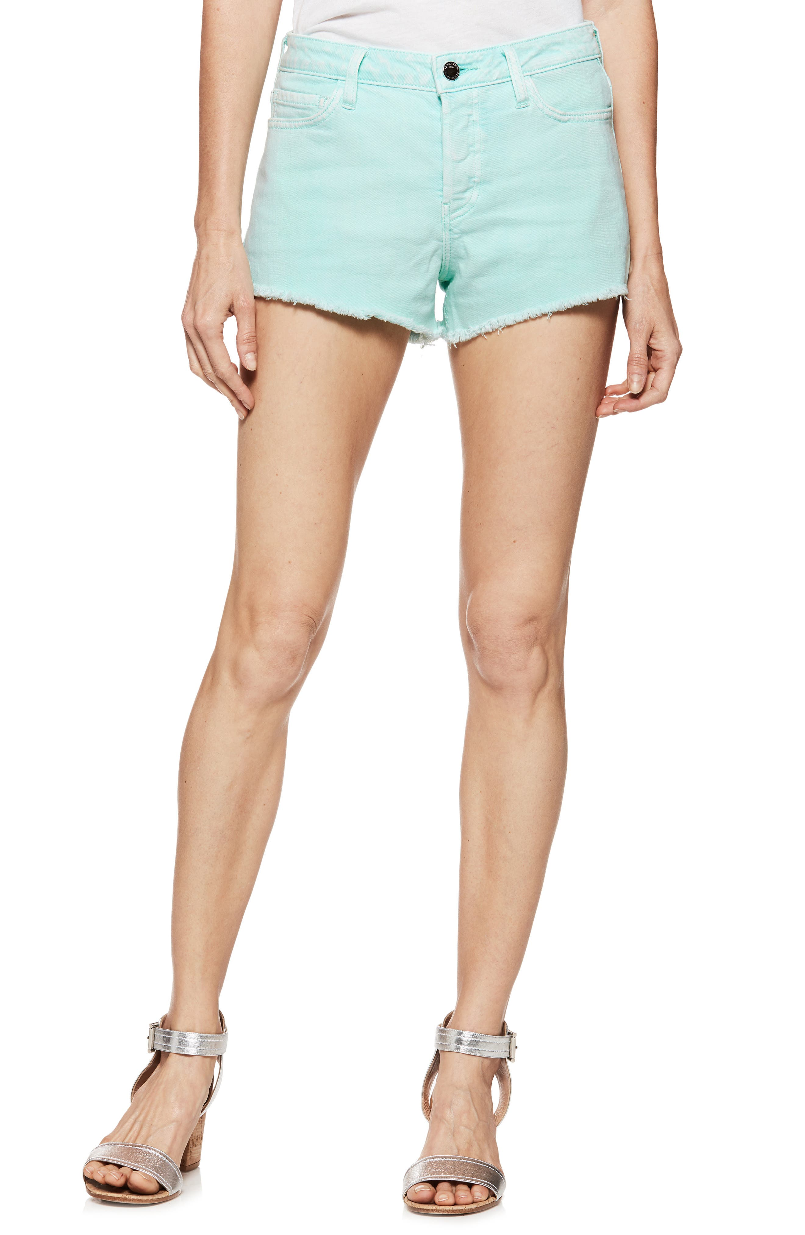 Emmit Relaxed Denim Shorts,                             Main thumbnail 1, color,                             430