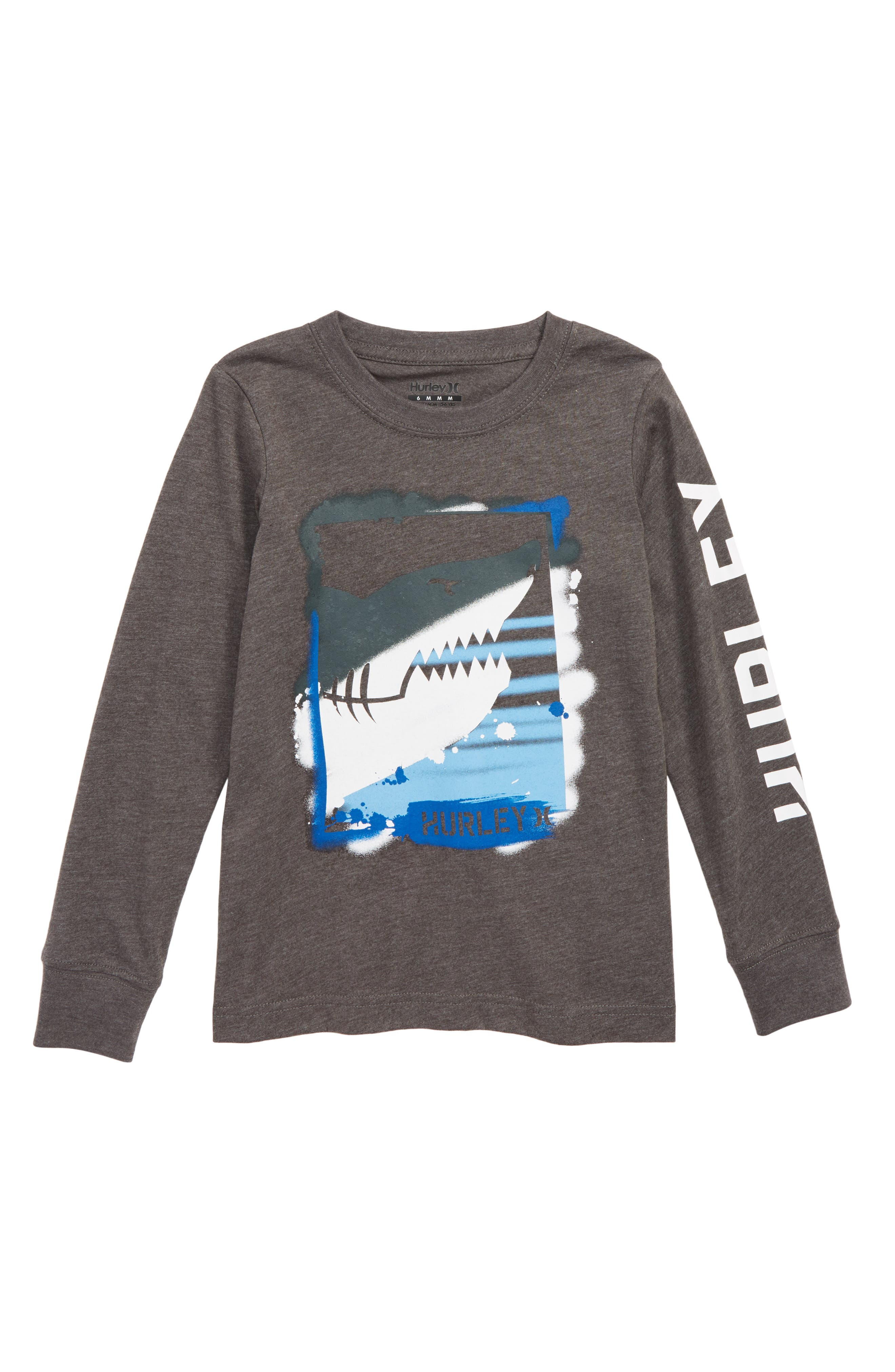 Adrian Graphic T-Shirt,                         Main,                         color, CHARCOAL HEATHER