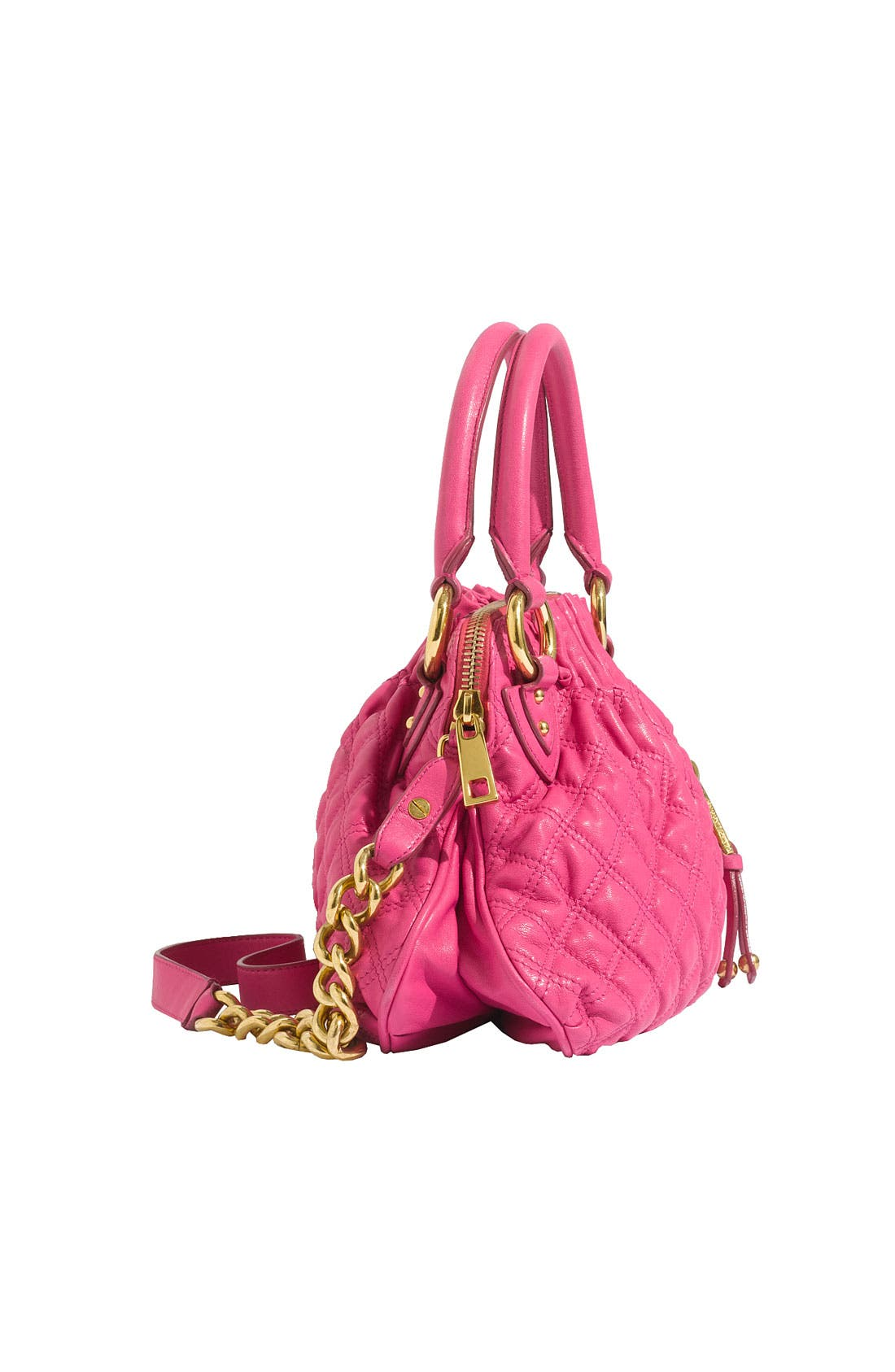 'Cecilia - Small' Quilted Leather Bag,                             Alternate thumbnail 8, color,