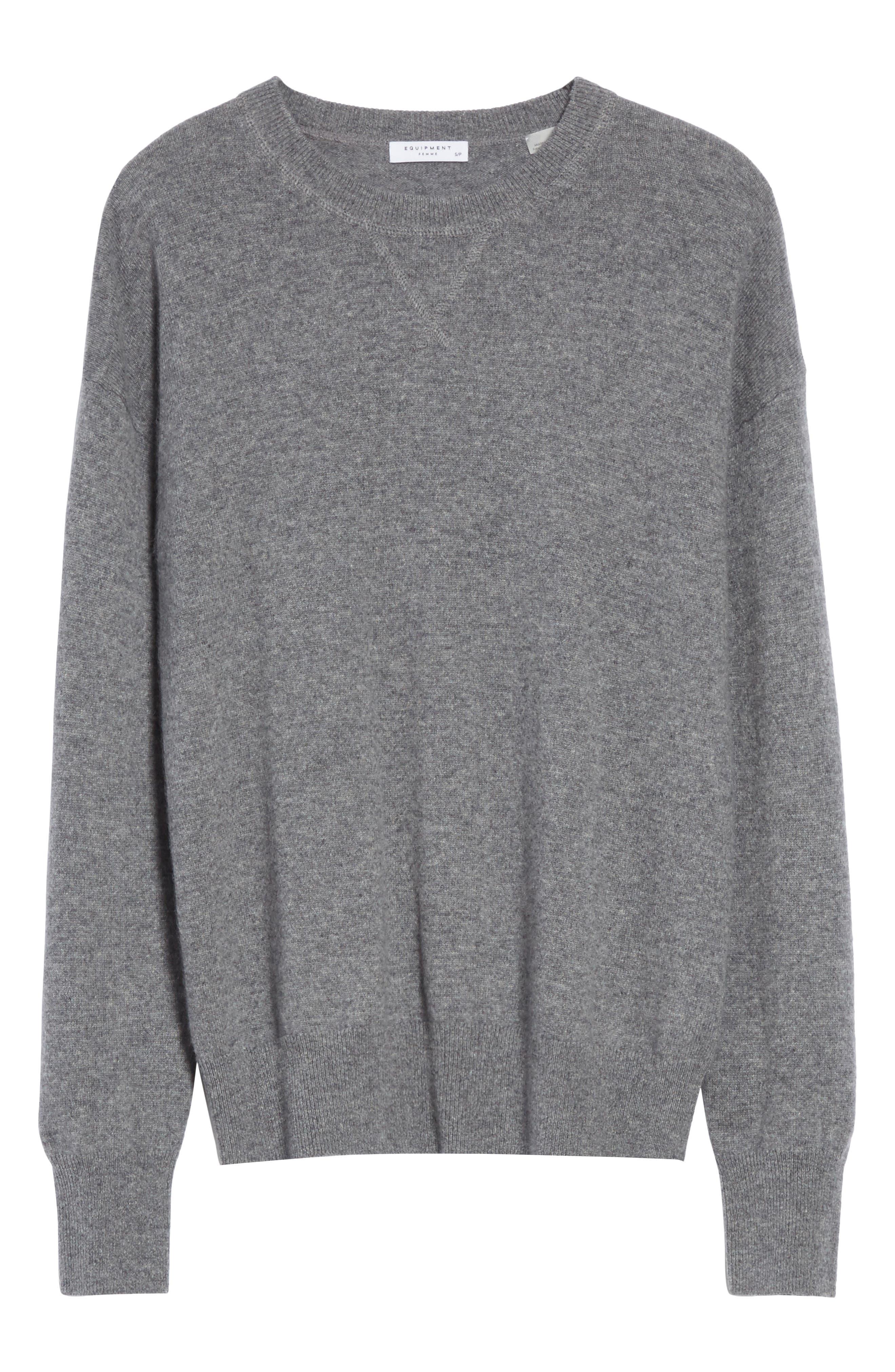 Renee Cashmere Sweatshirt,                             Alternate thumbnail 6, color,                             033
