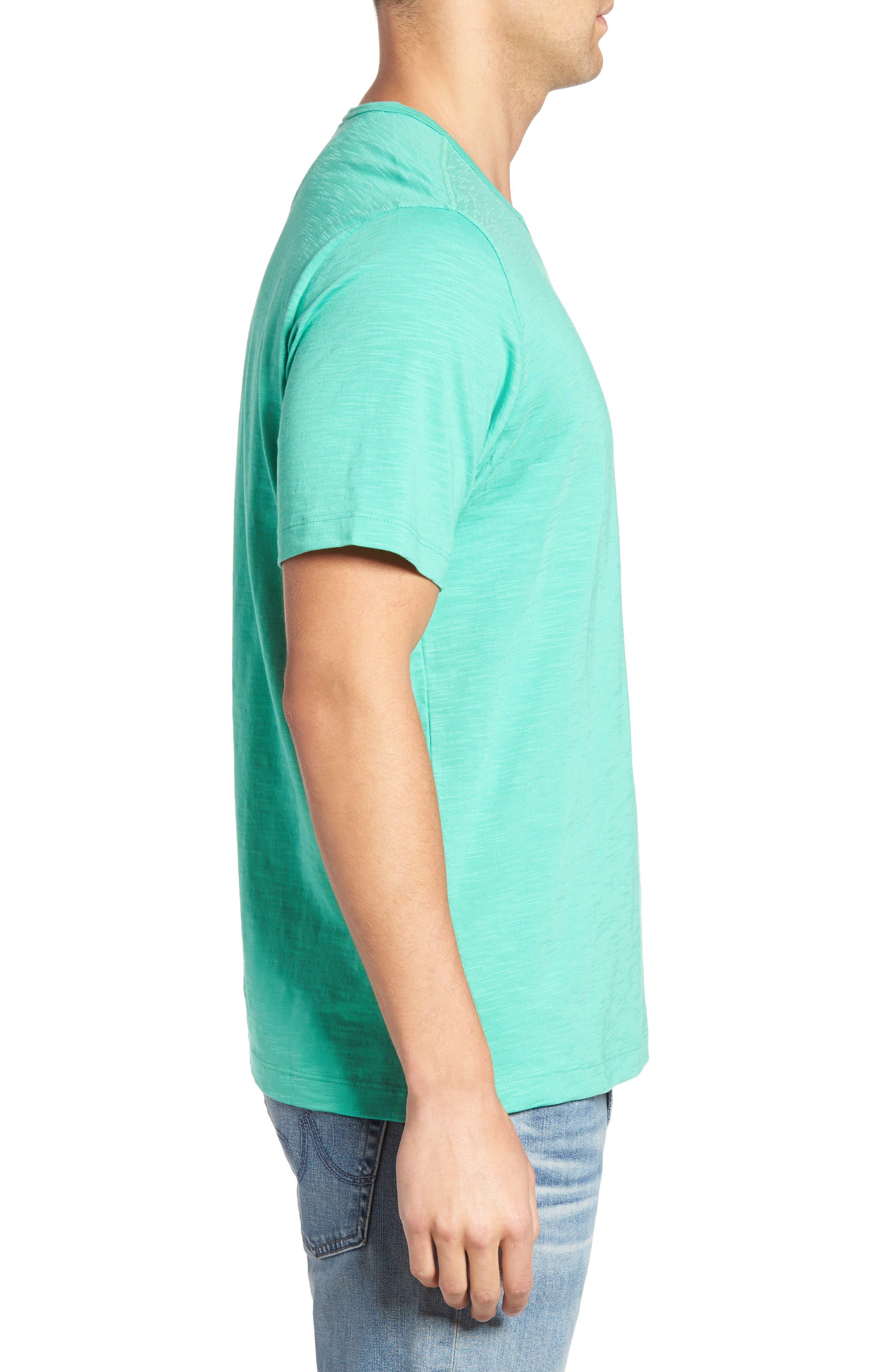 'Portside Player' Pima Cotton T-Shirt,                             Alternate thumbnail 27, color,