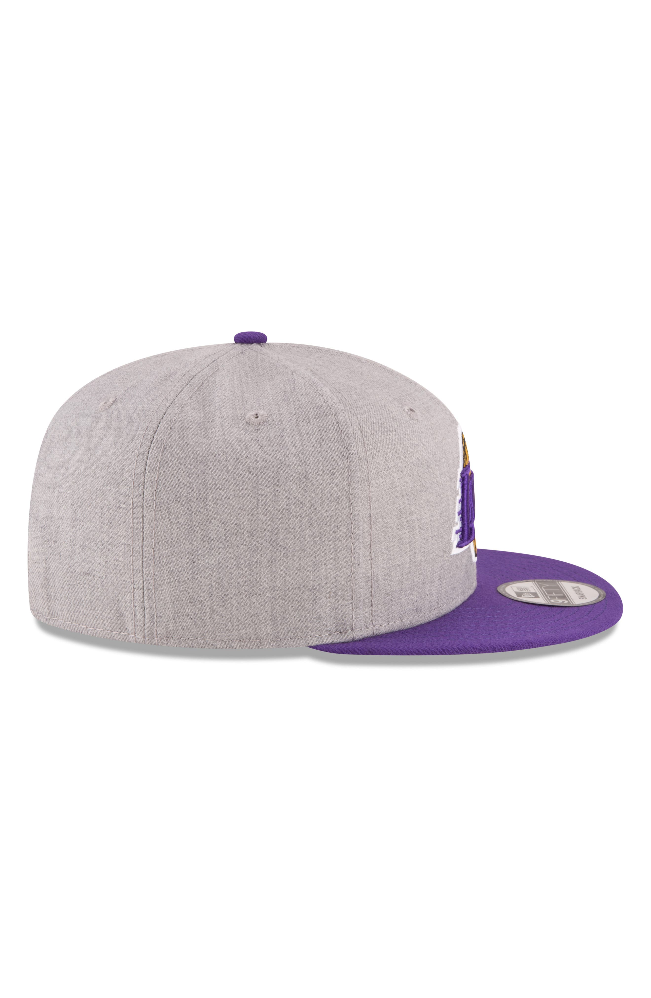 9FIFTY LA Lakers Two-Tone Cap,                             Alternate thumbnail 2, color,                             020