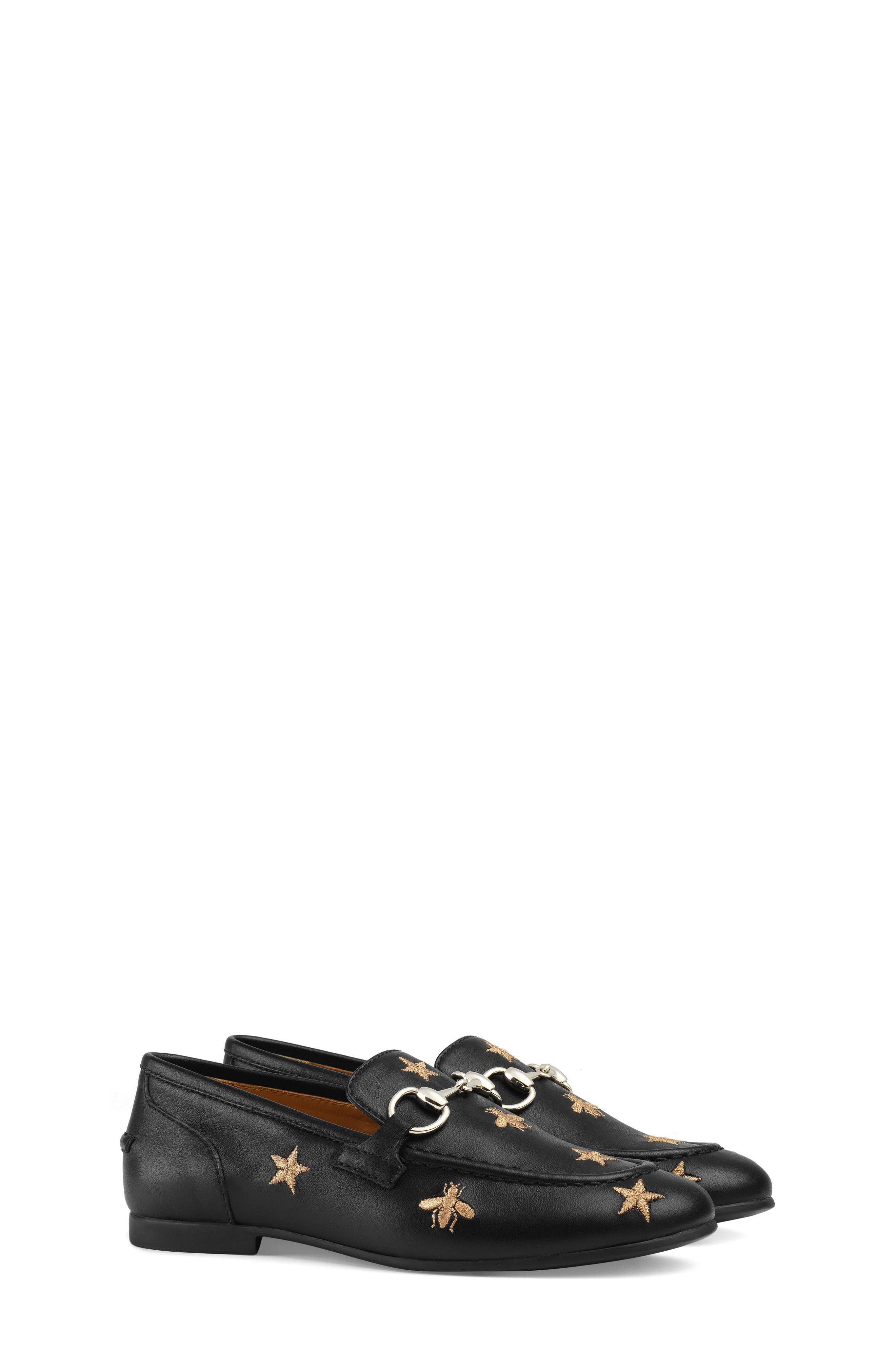 Jordaan Bit Loafer,                             Main thumbnail 1, color,                             BLACK