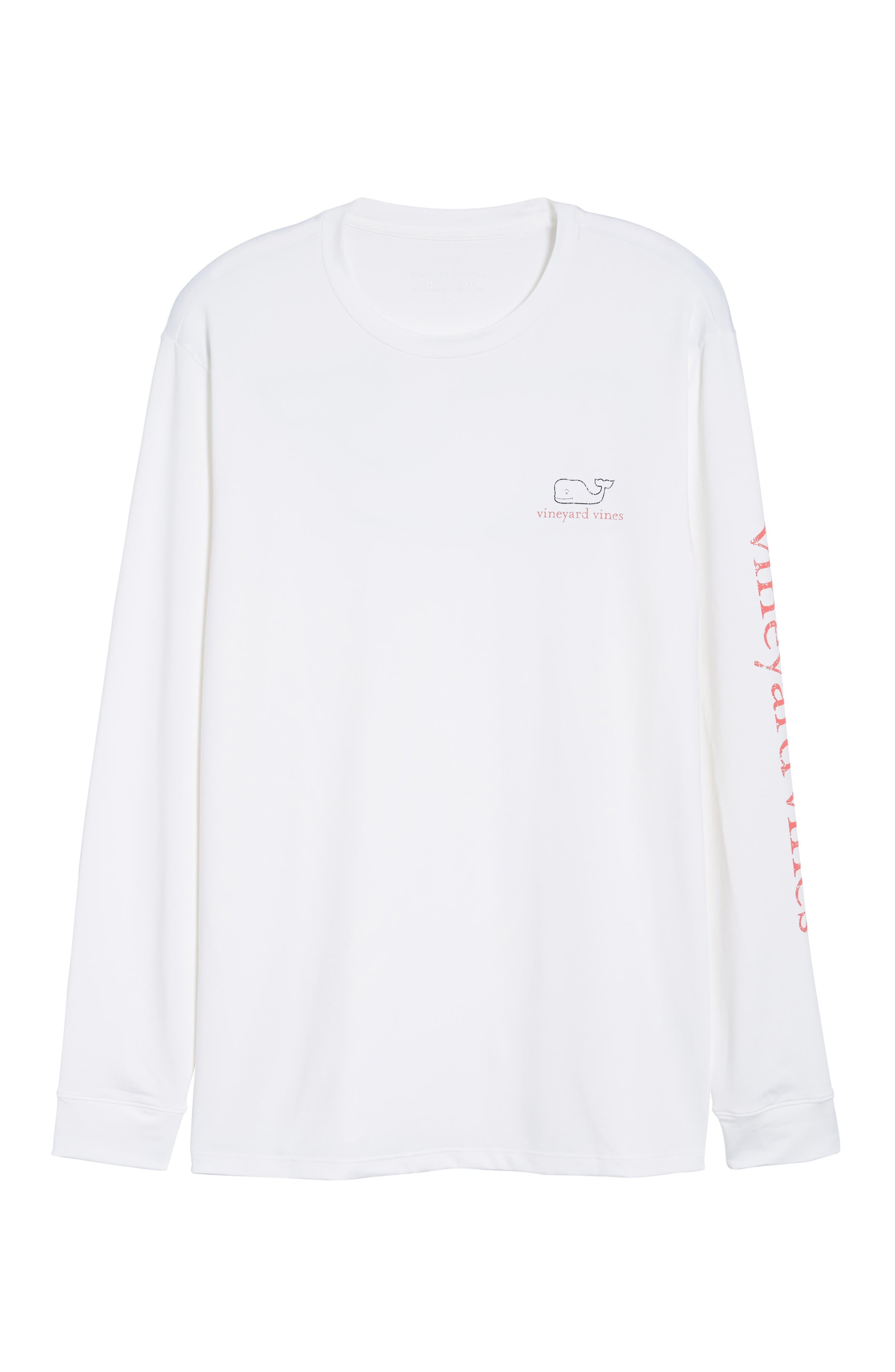 Vintage Whale Performance T-Shirt,                             Alternate thumbnail 6, color,                             100