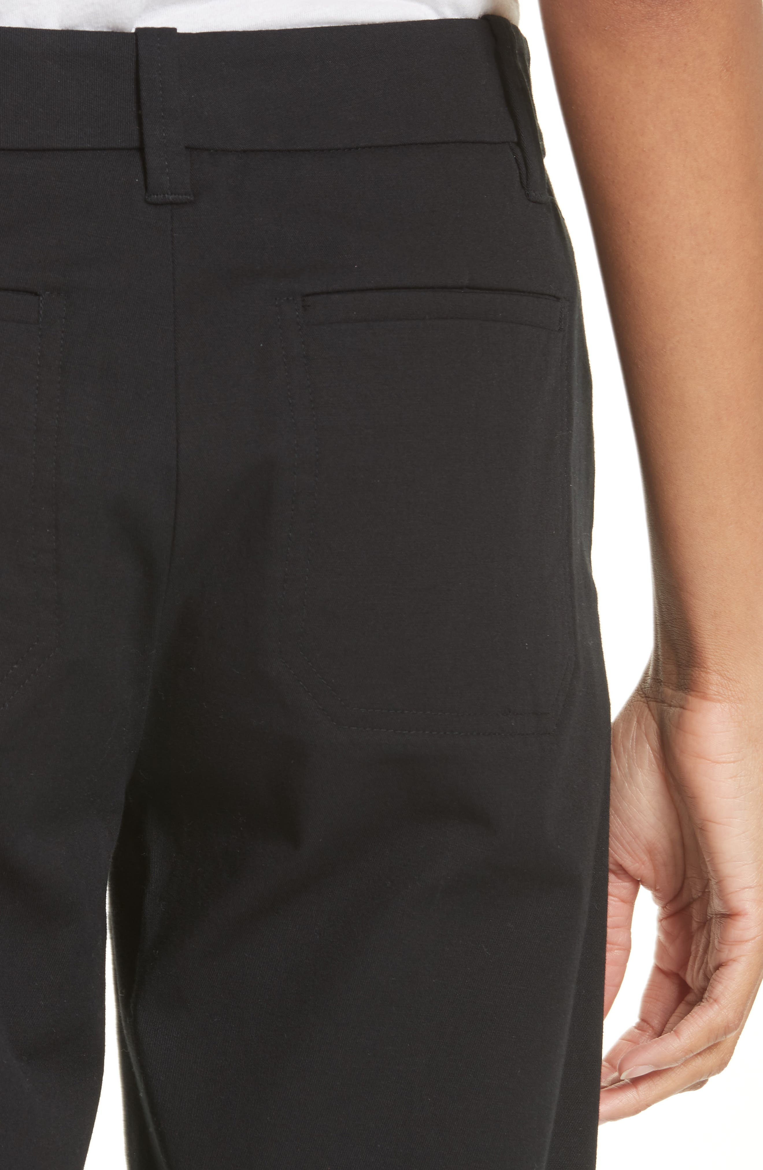 Bermuda Shorts,                             Alternate thumbnail 5, color,                             BLACK