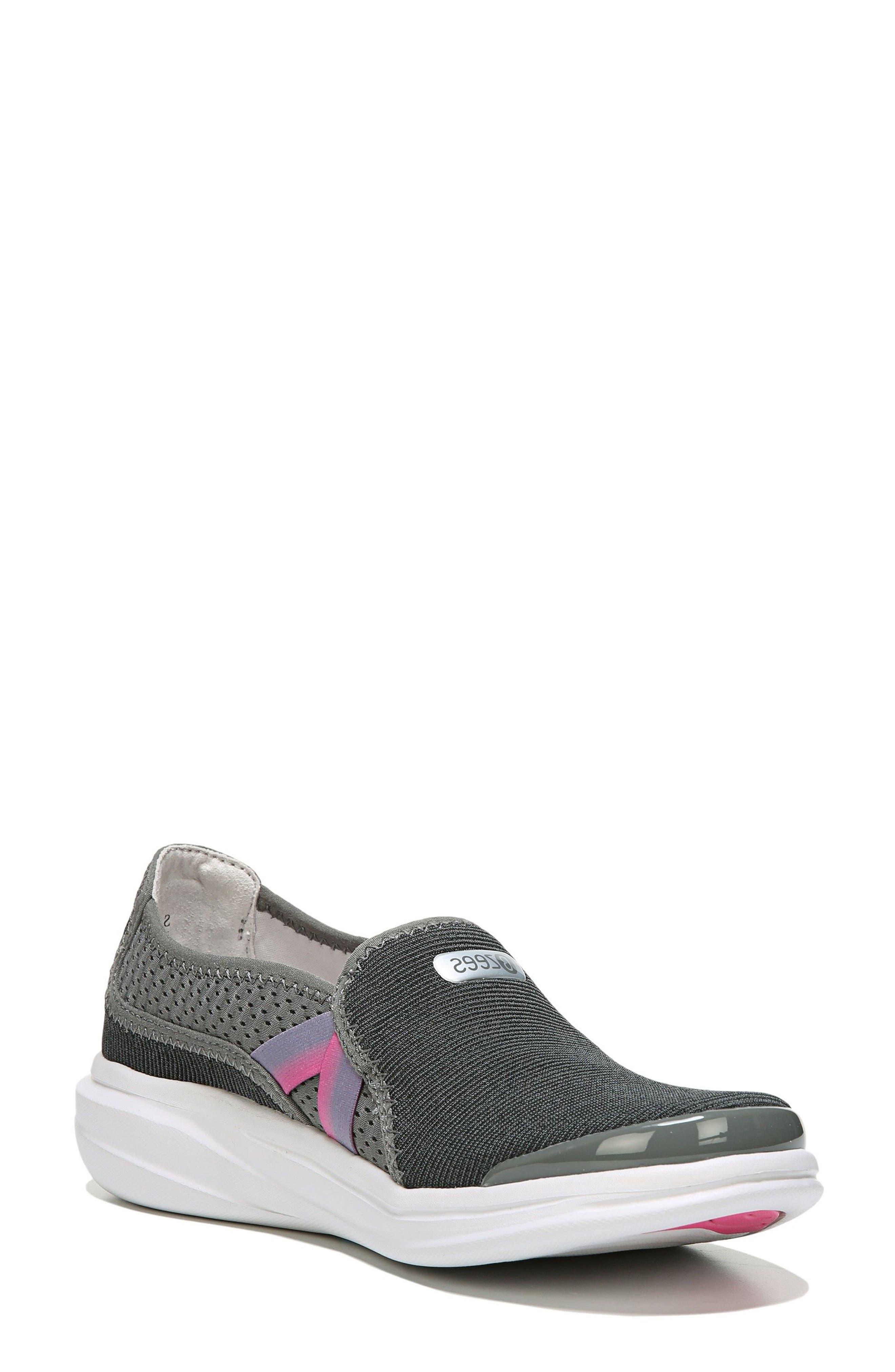 Cruise Slip-On Sneaker,                         Main,                         color, DARK GREY FABRIC