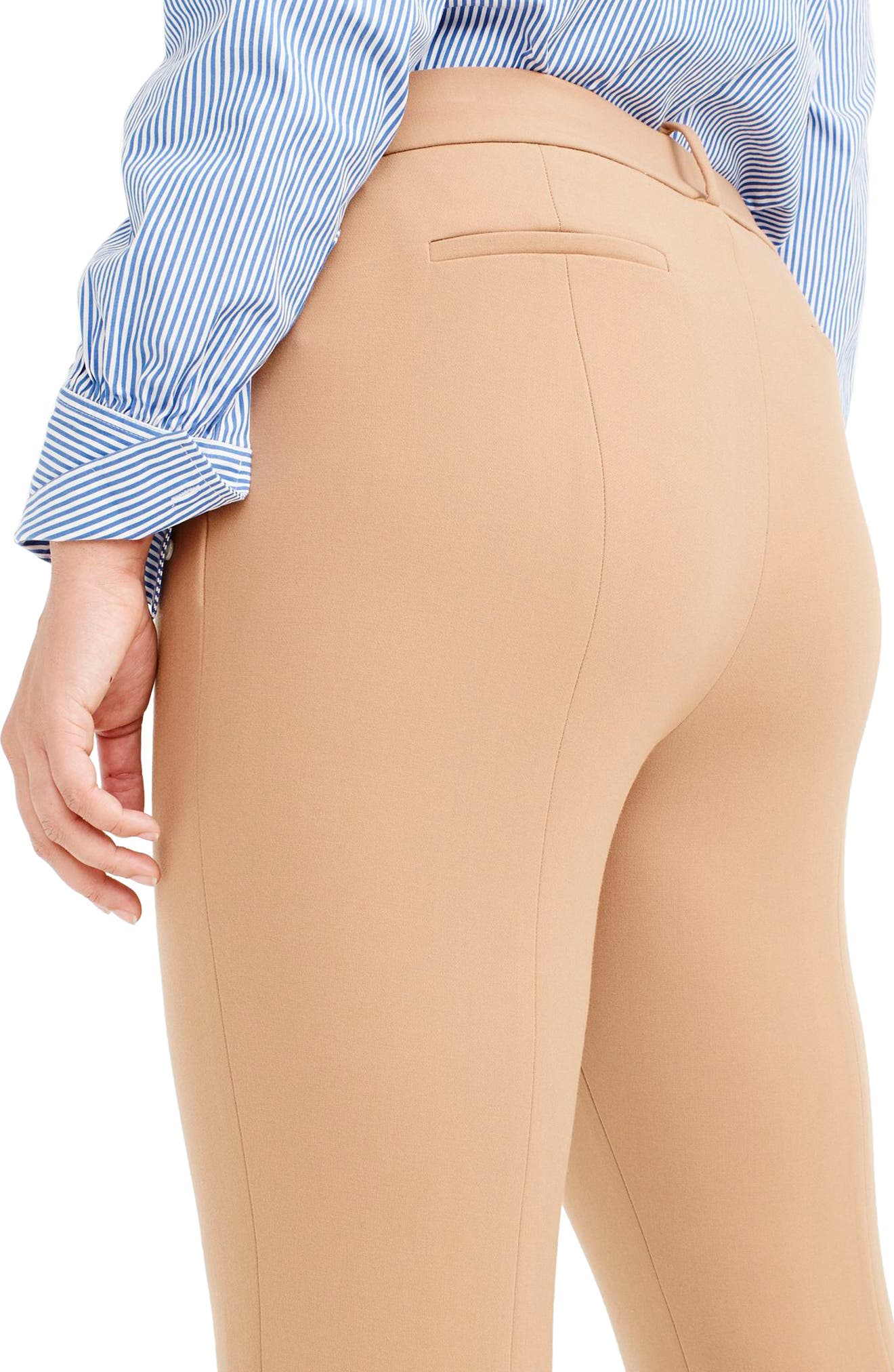 Cameron Four Season Crop Pants,                             Alternate thumbnail 9, color,                             HEATHER SADDLE