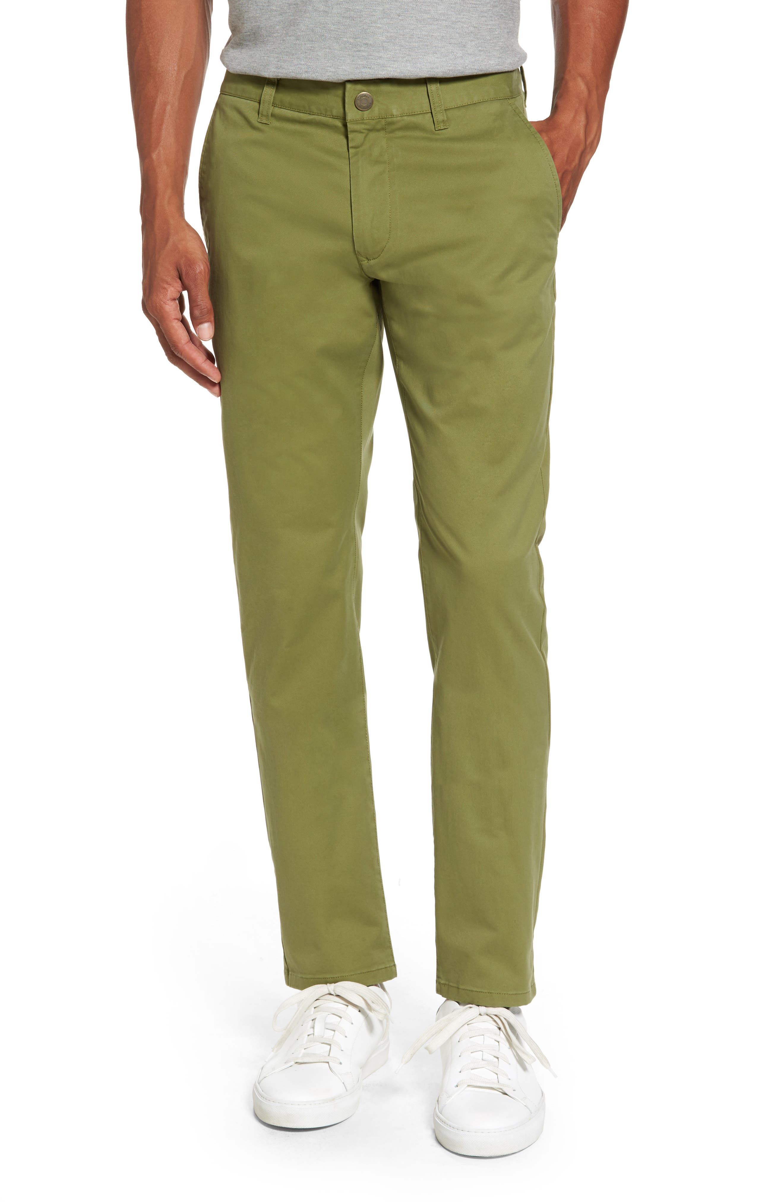 Tailored Fit Washed Stretch Cotton Chinos,                             Main thumbnail 7, color,