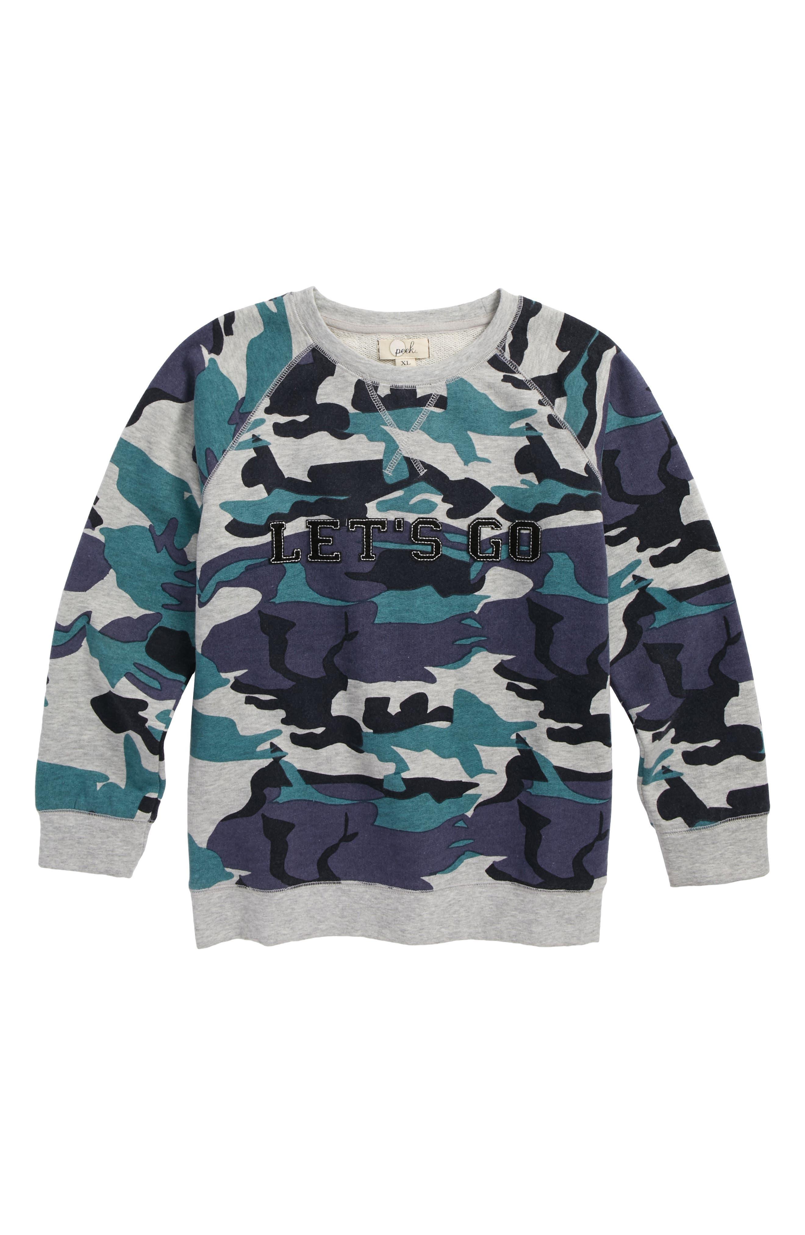 Let's Go Sweatshirt,                         Main,                         color, 400