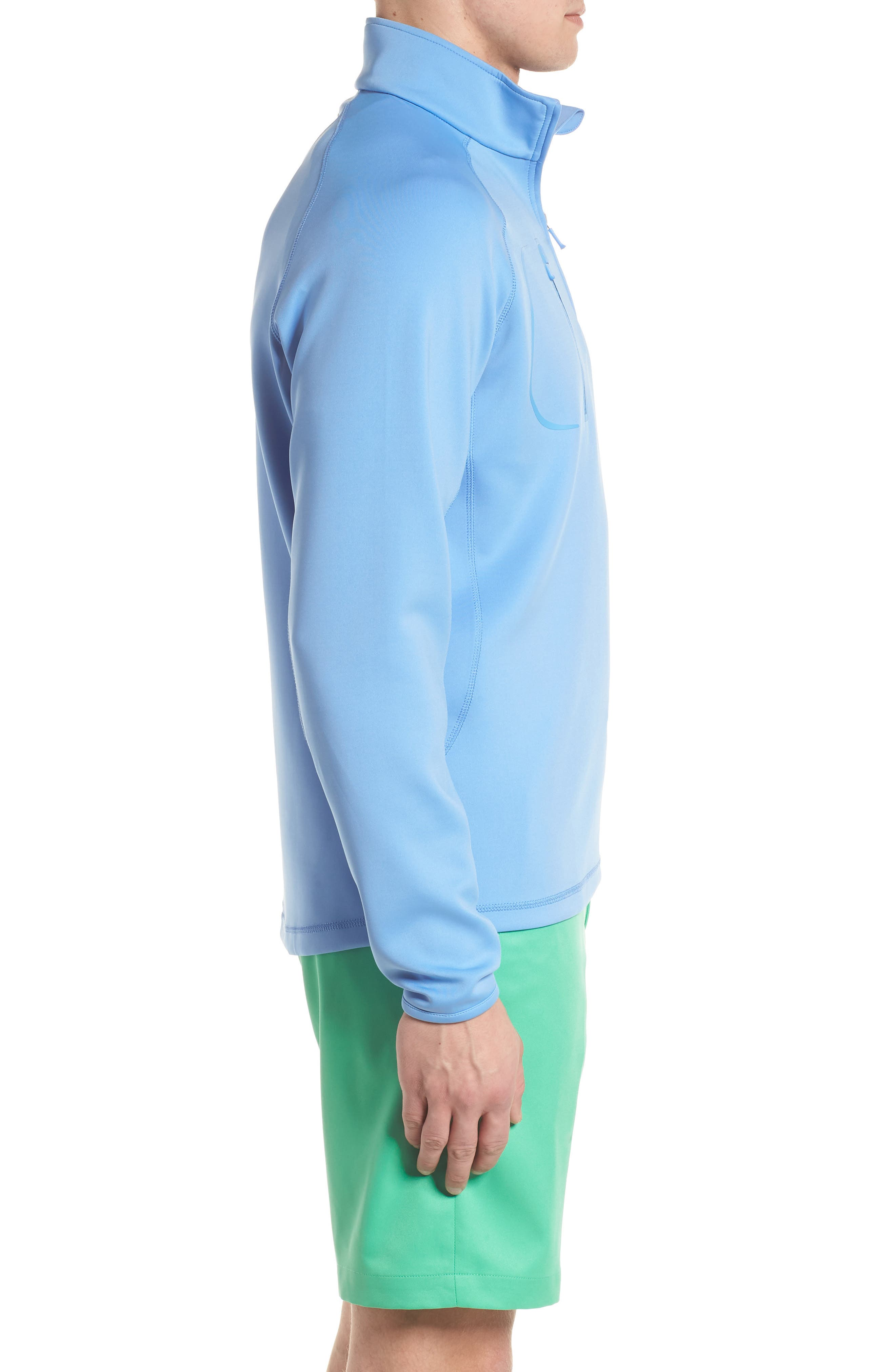 XH2O Crawford Stretch Quarter Zip Golf Pullover,                             Alternate thumbnail 27, color,